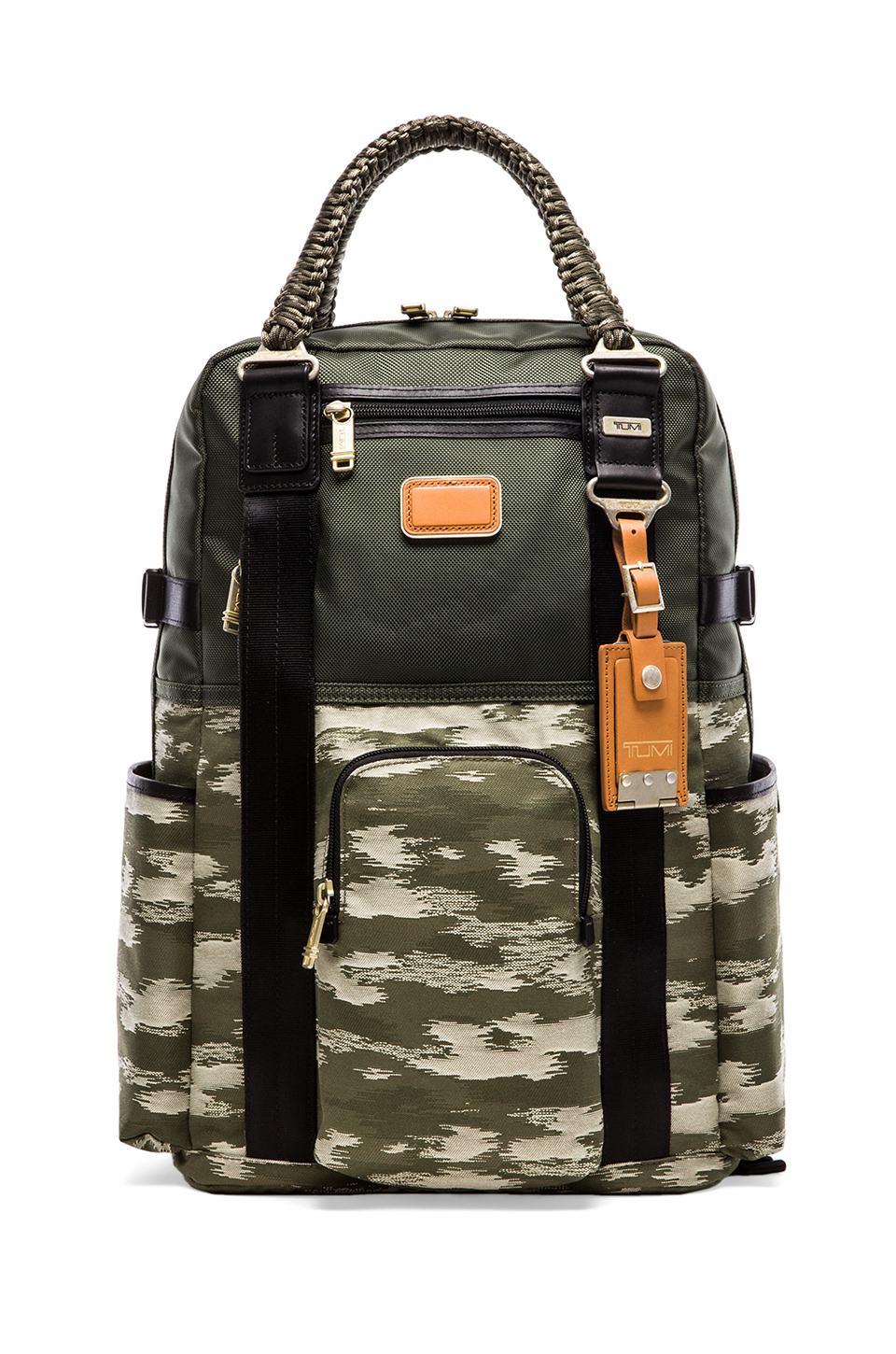 Lyst Tumi Alpha Bravo Lejeune Backpack Tote In Green For Men