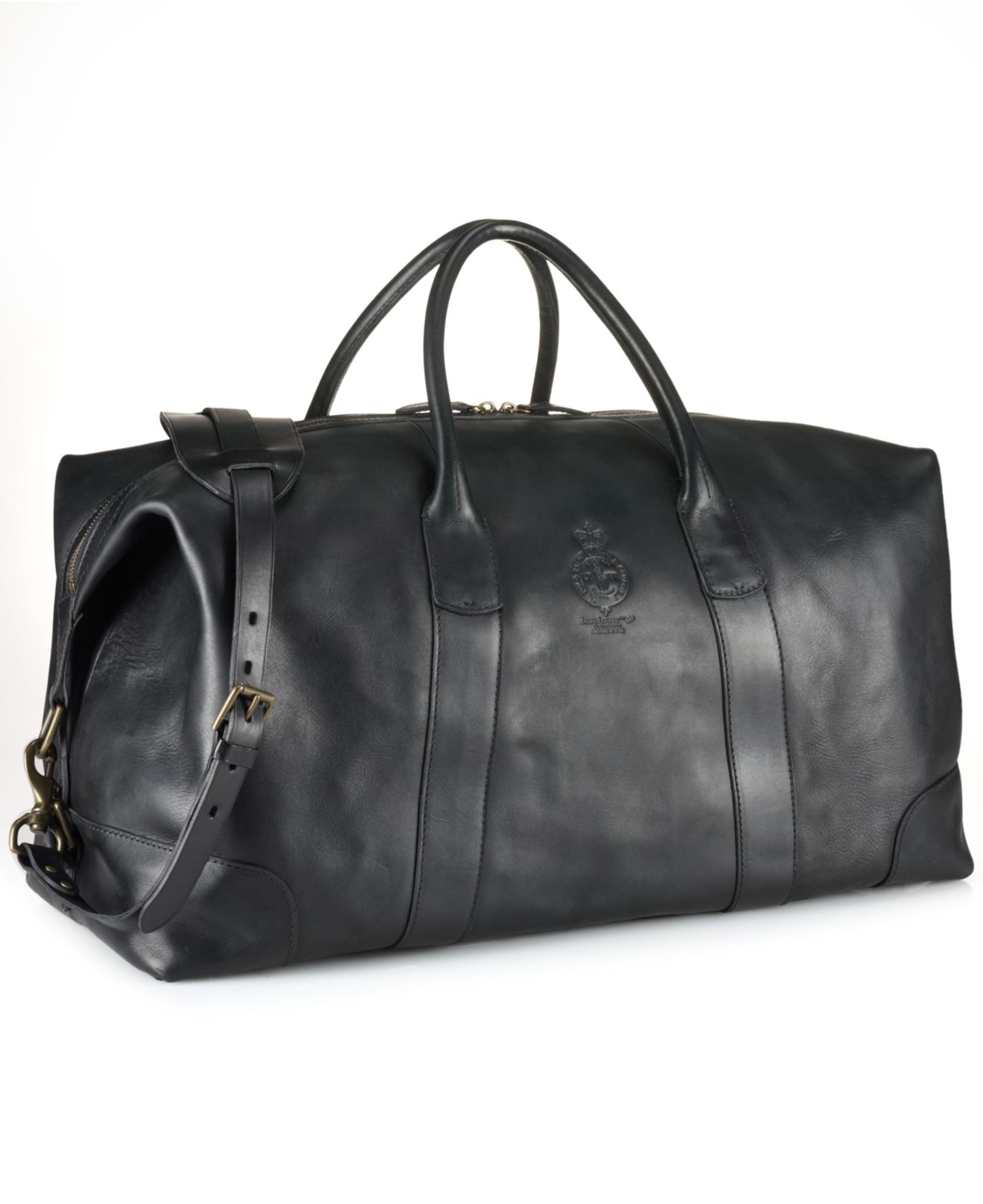 Lyst - Polo Ralph Lauren Core Leather Duffle Bag in Black for Men 475edc21d4a78