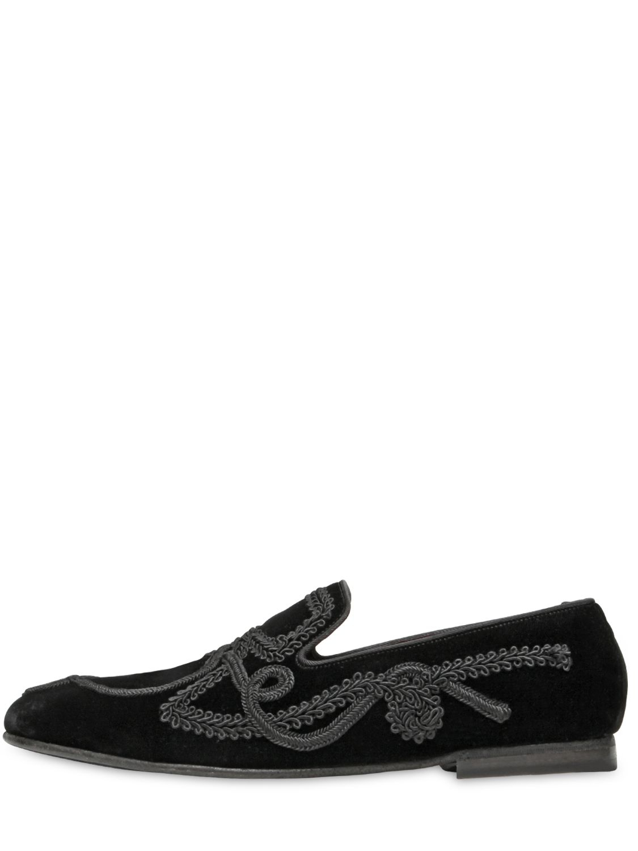 Dolce & Gabbana Tissés Mocassins - Blanc a6k5BCt