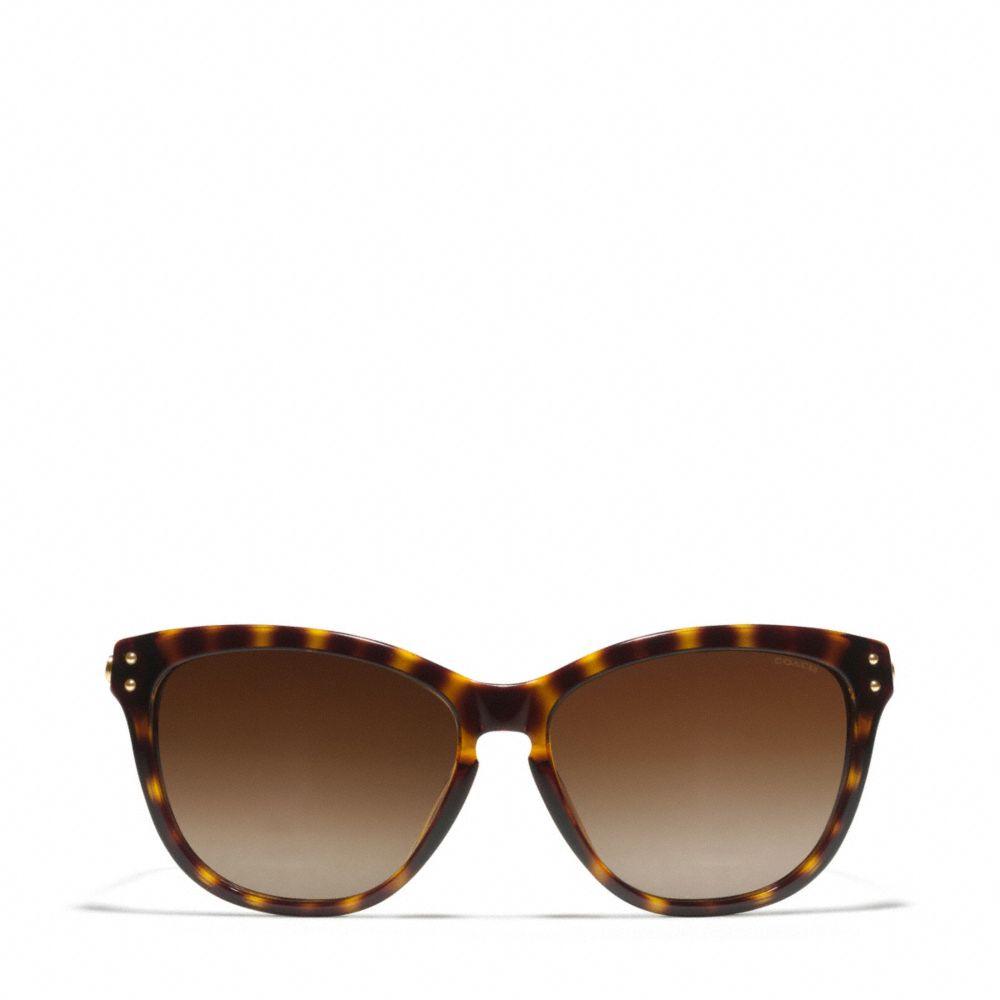 27a41dad8 COACH Celia Polarized Sunglasses in Brown - Lyst