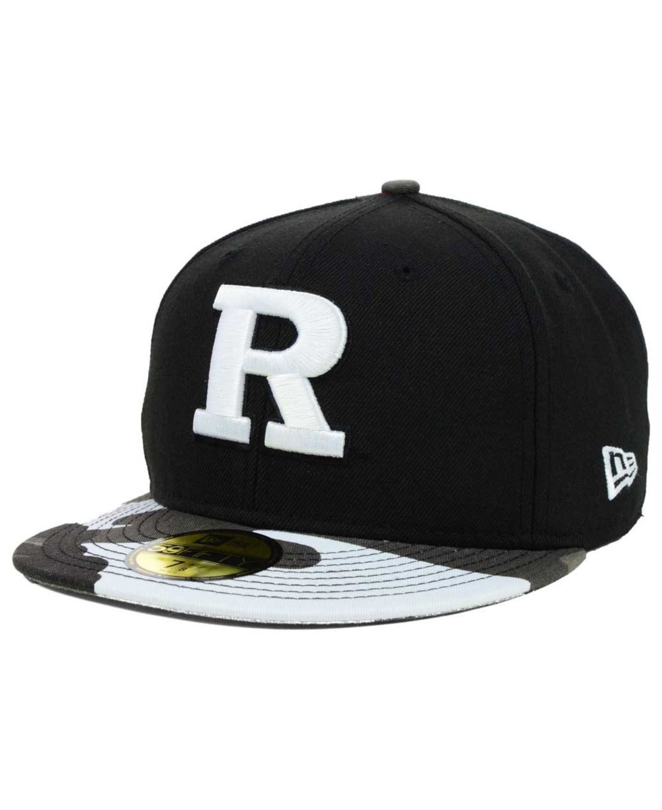 hot sale online 0b399 61fb8 germany lyst ktz rutgers scarlet knights urban camo 59fifty cap in black  353e9 e5b04