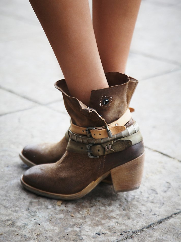 A S 98 Fortitude Ankle Boot In Brown Lyst
