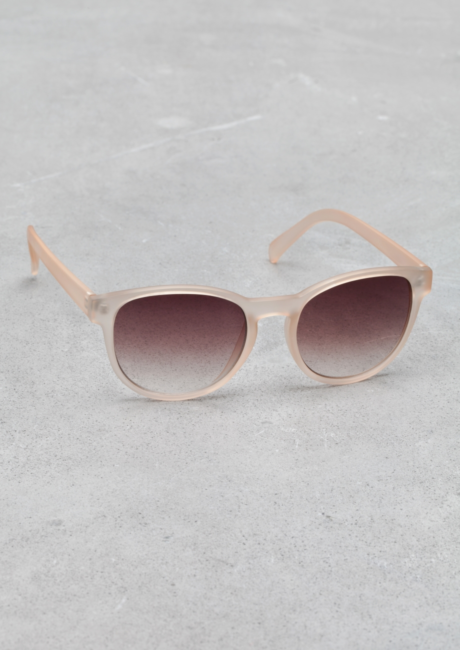 da3e67c74d774   Other Stories Round Frame Sunglasses in Pink - Lyst