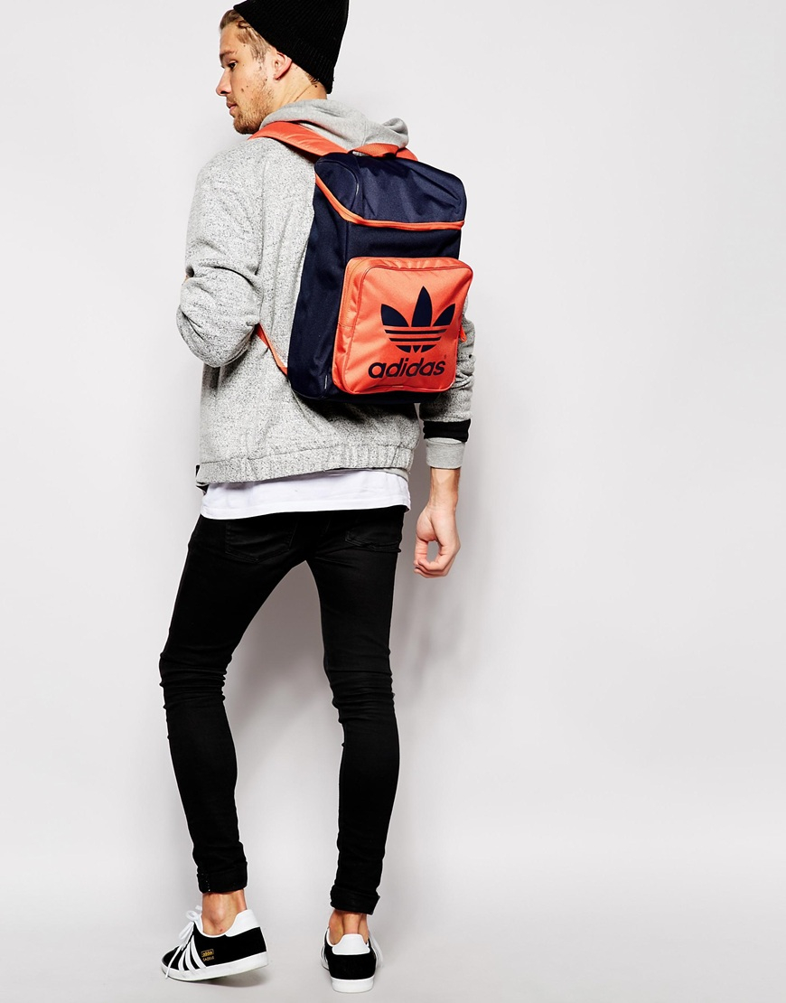 a0b72ff0dc Lyst - adidas Originals Infill Backpack in Blue for Men