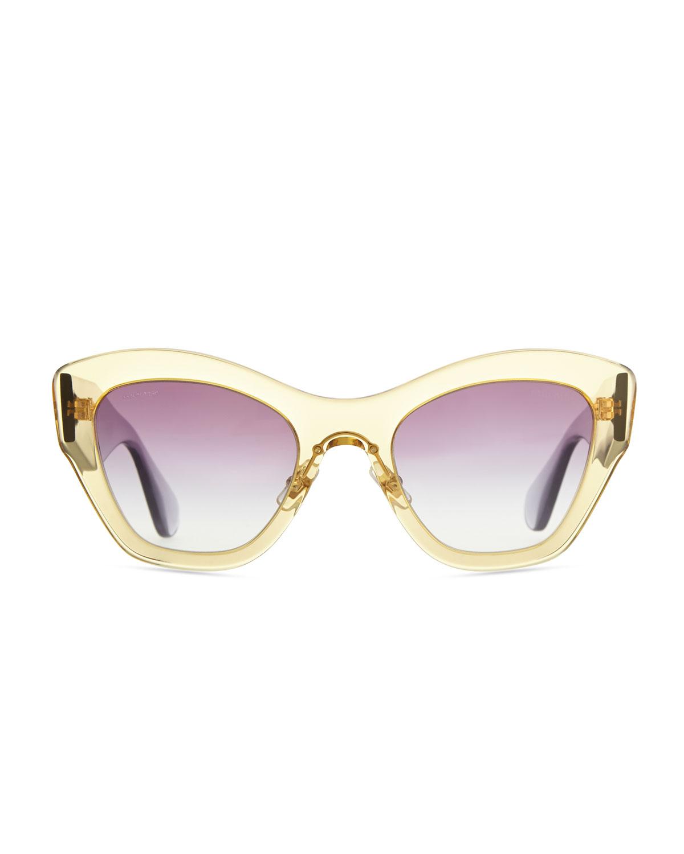 Armani Cat Eye Glasses