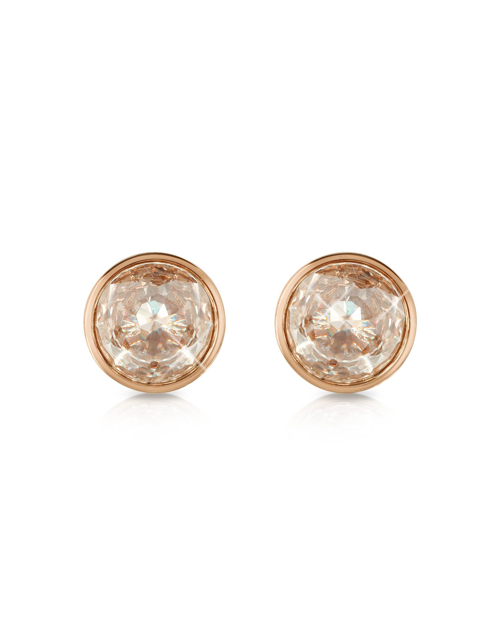 Rose Gold Crystal Stud Earrings Best 25 Michael Kors Earrings
