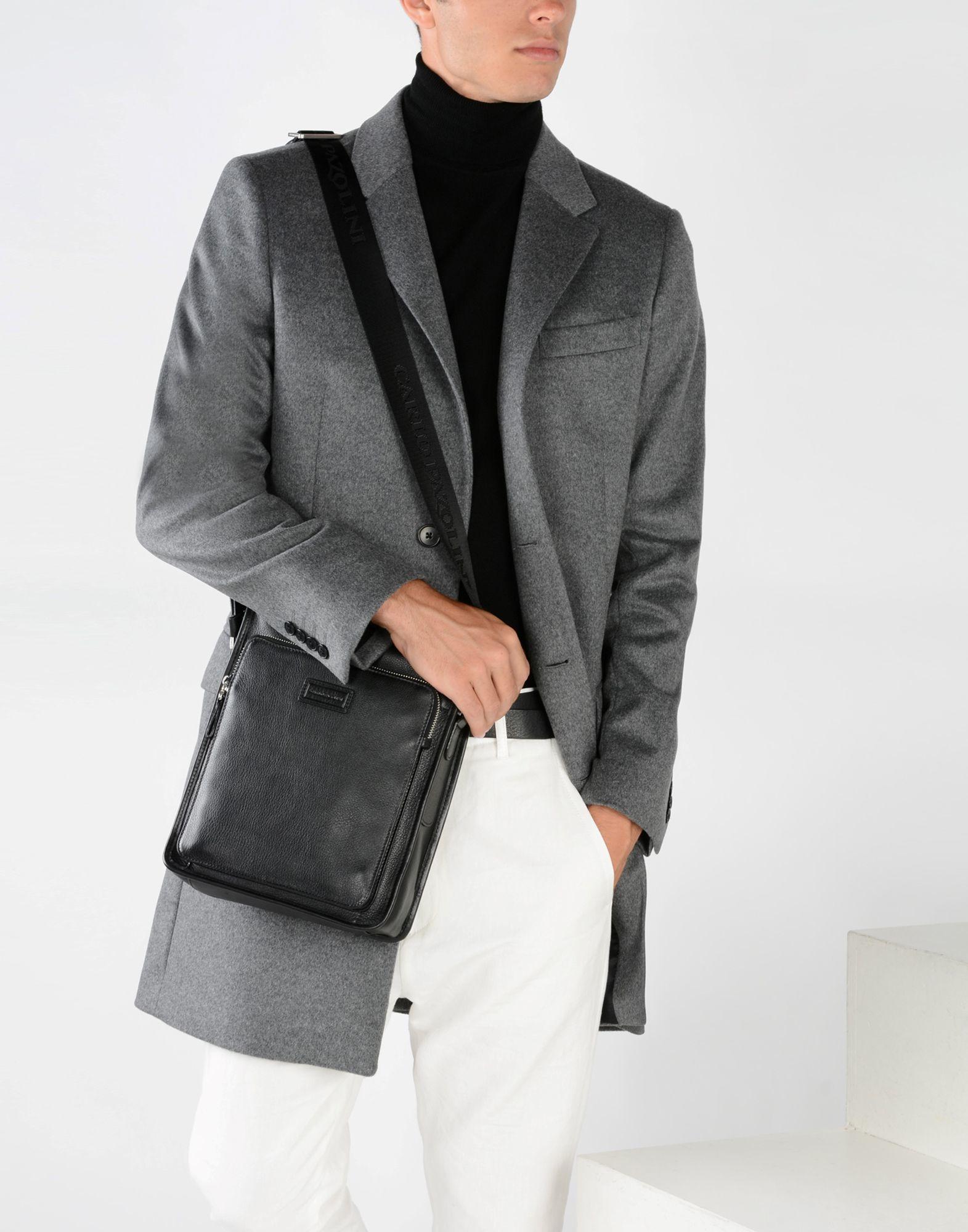 Lyst Carlo Pazolini Cross Body Bag In Black For Men