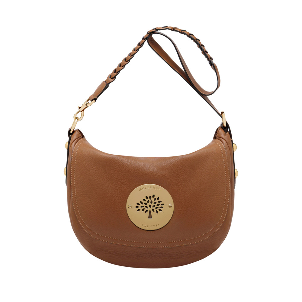Lyst - Mulberry Daria Satchel in Brown d979abaebb580