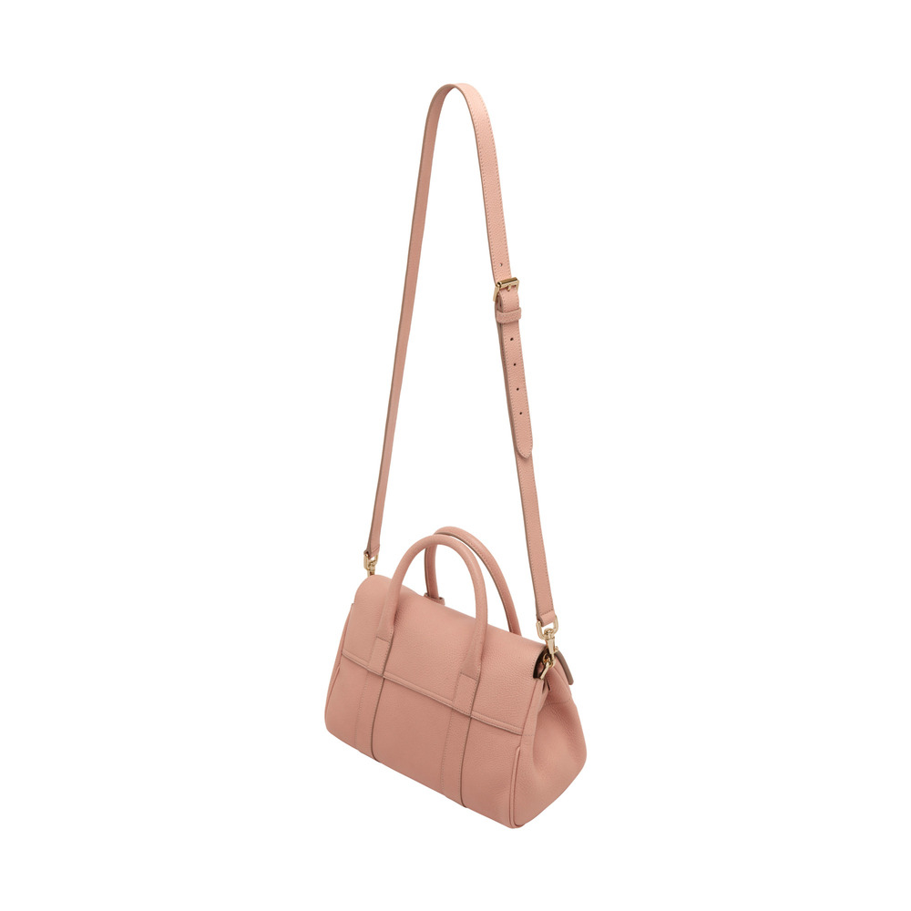 ca86751ca0a9 Lyst - Mulberry Small Bayswater Satchel in Pink