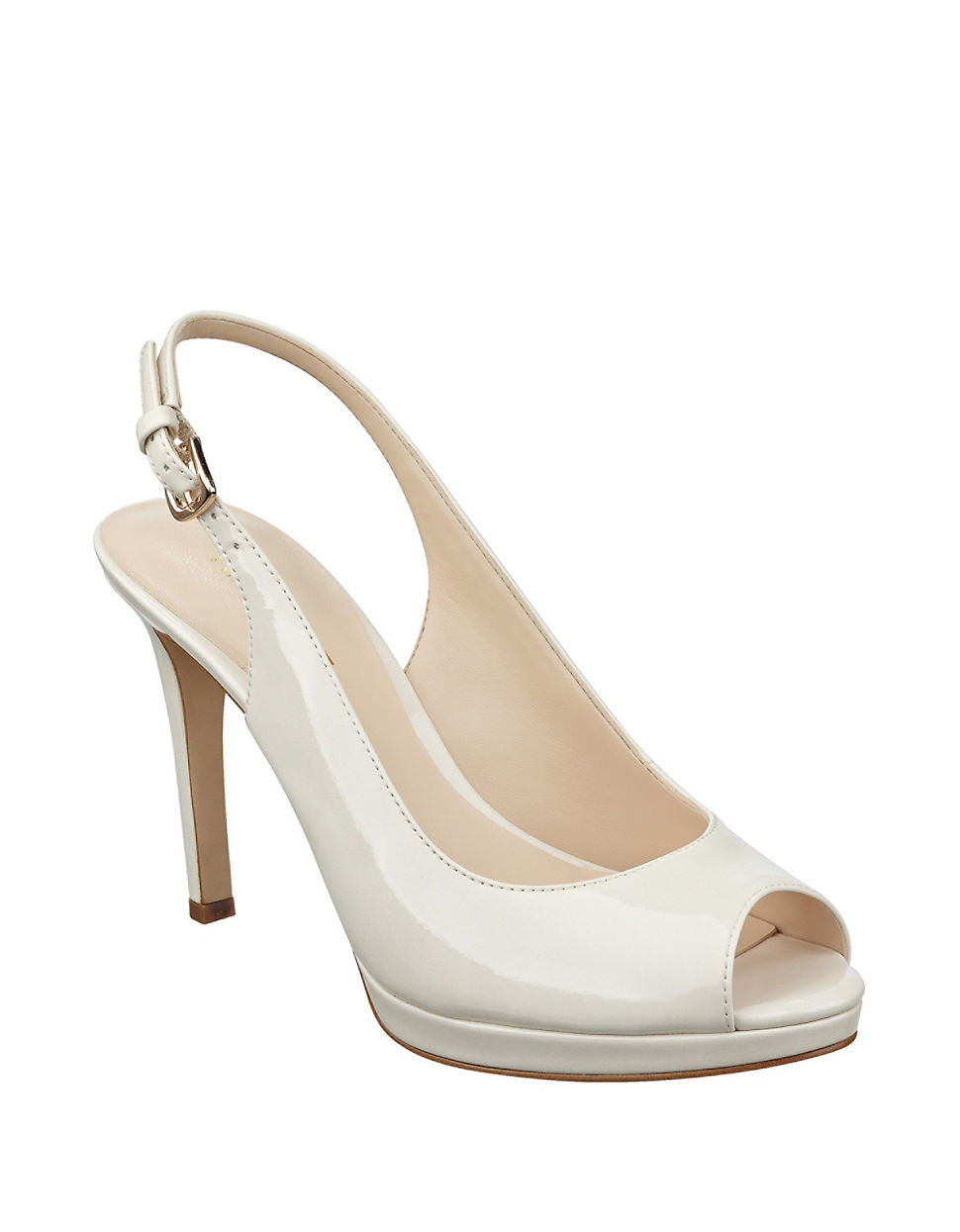 4a1591a1c954 Lyst - Nine West Emilyna Slingback Sandals