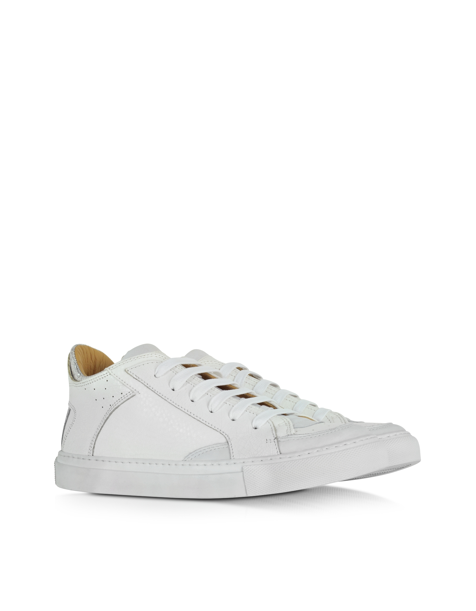 best sale buy cheap limited edition MM6 Maison Margiela MM6 by Maison Martin Margiela Leather Low-Top Sneakers websites vhw6p