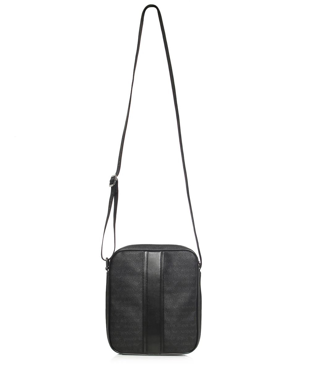 e0db1f9ddef Lyst - Armani Jeans Logo Flight Bag in Black for Men