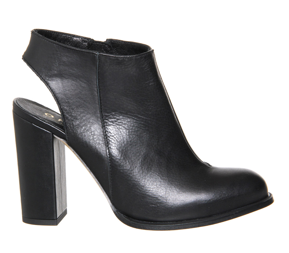 Office Fling Open Back Shoe Boots In Black Save 46 Lyst