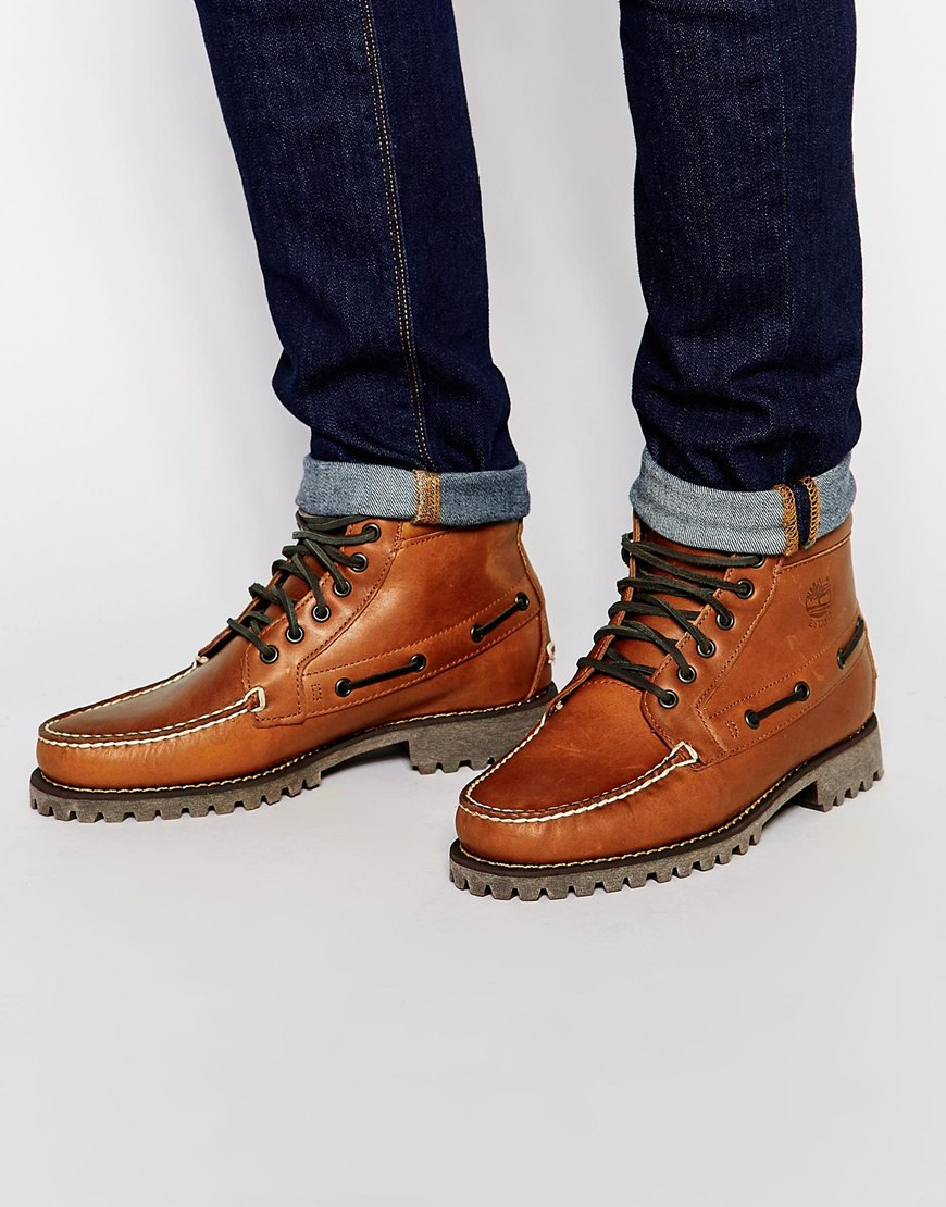 timberland boat boots