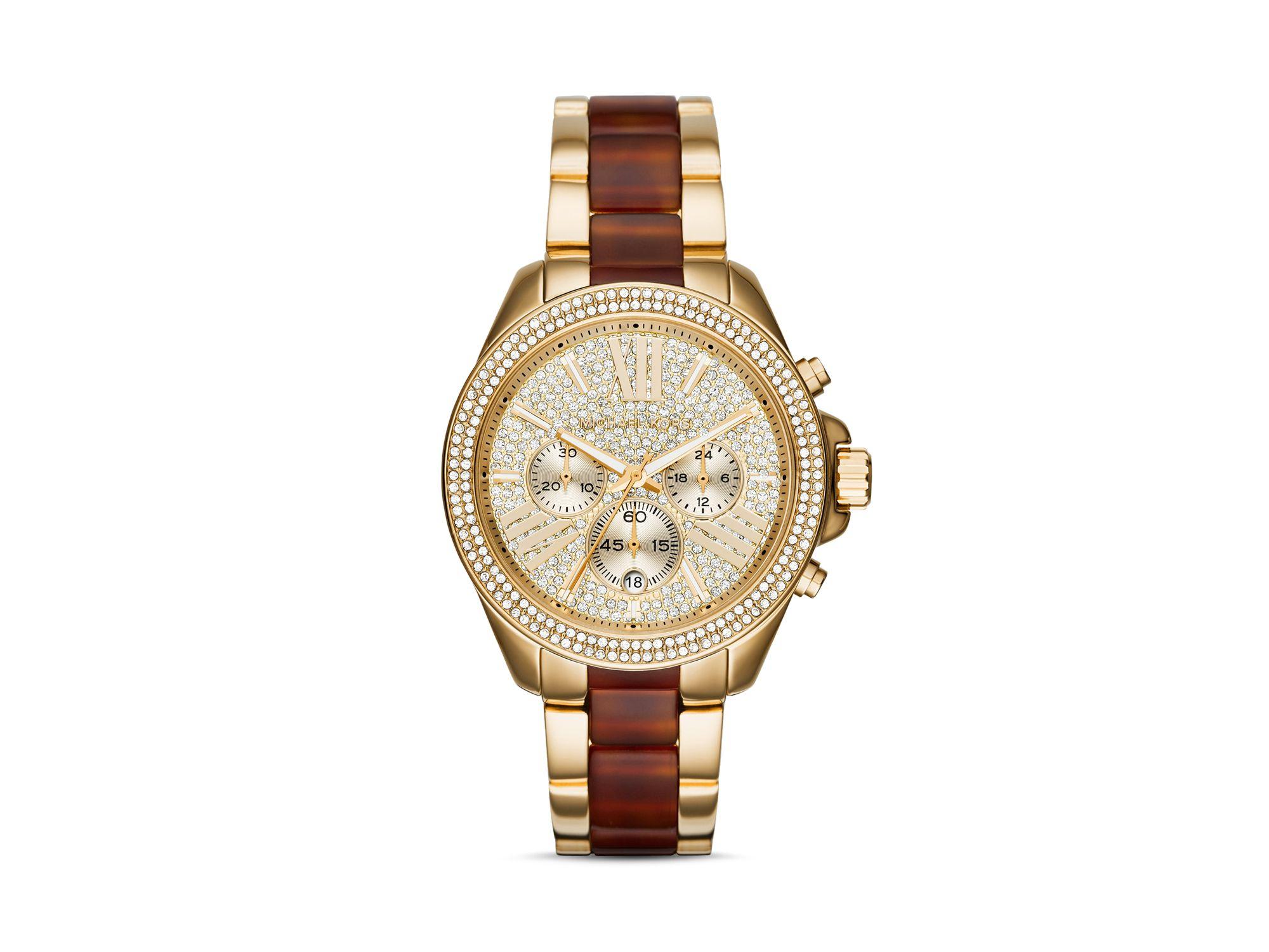 789babd27d30 Lyst - Michael Kors Wren Watch