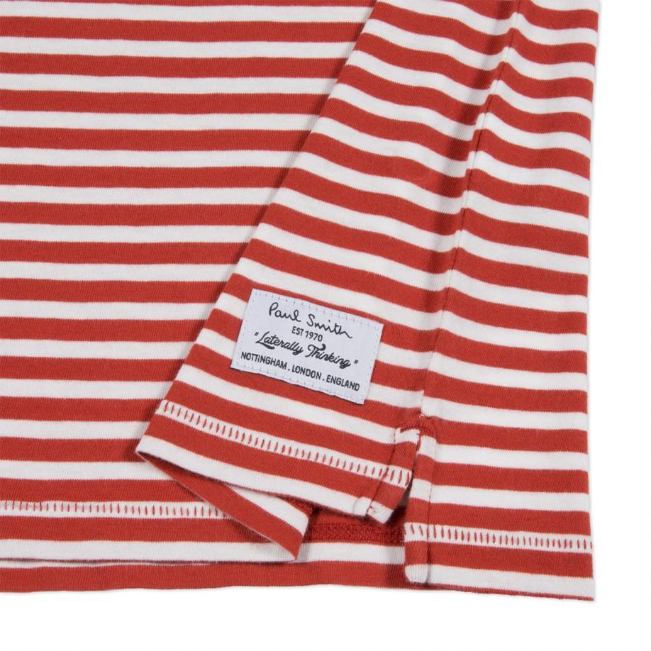 how to make a red and white striped shirt
