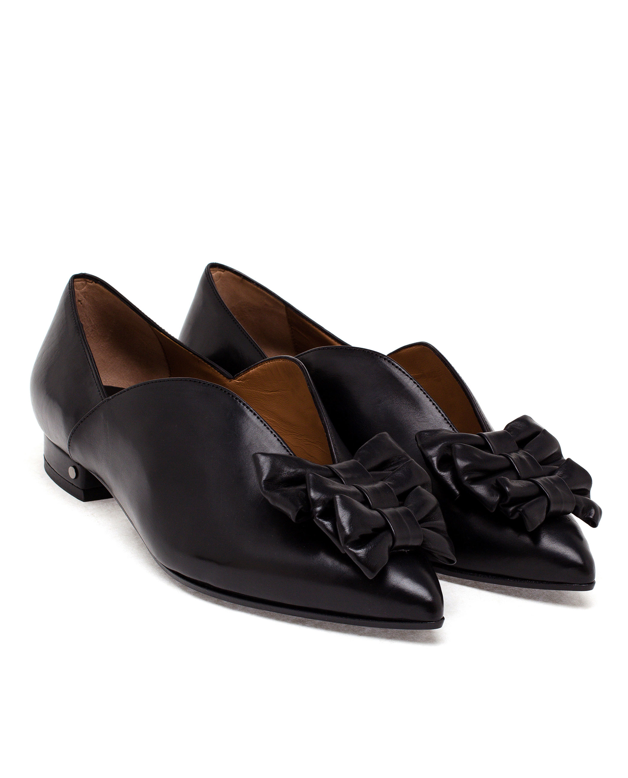 Pre-owned - Leather flats Laurence Dacade K9rmhwJOf