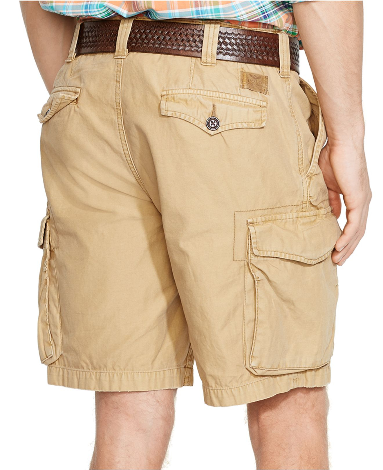 1c90e434a5 Polo Ralph Lauren Classic-fit Commander Cargo Shorts in Natural for ...