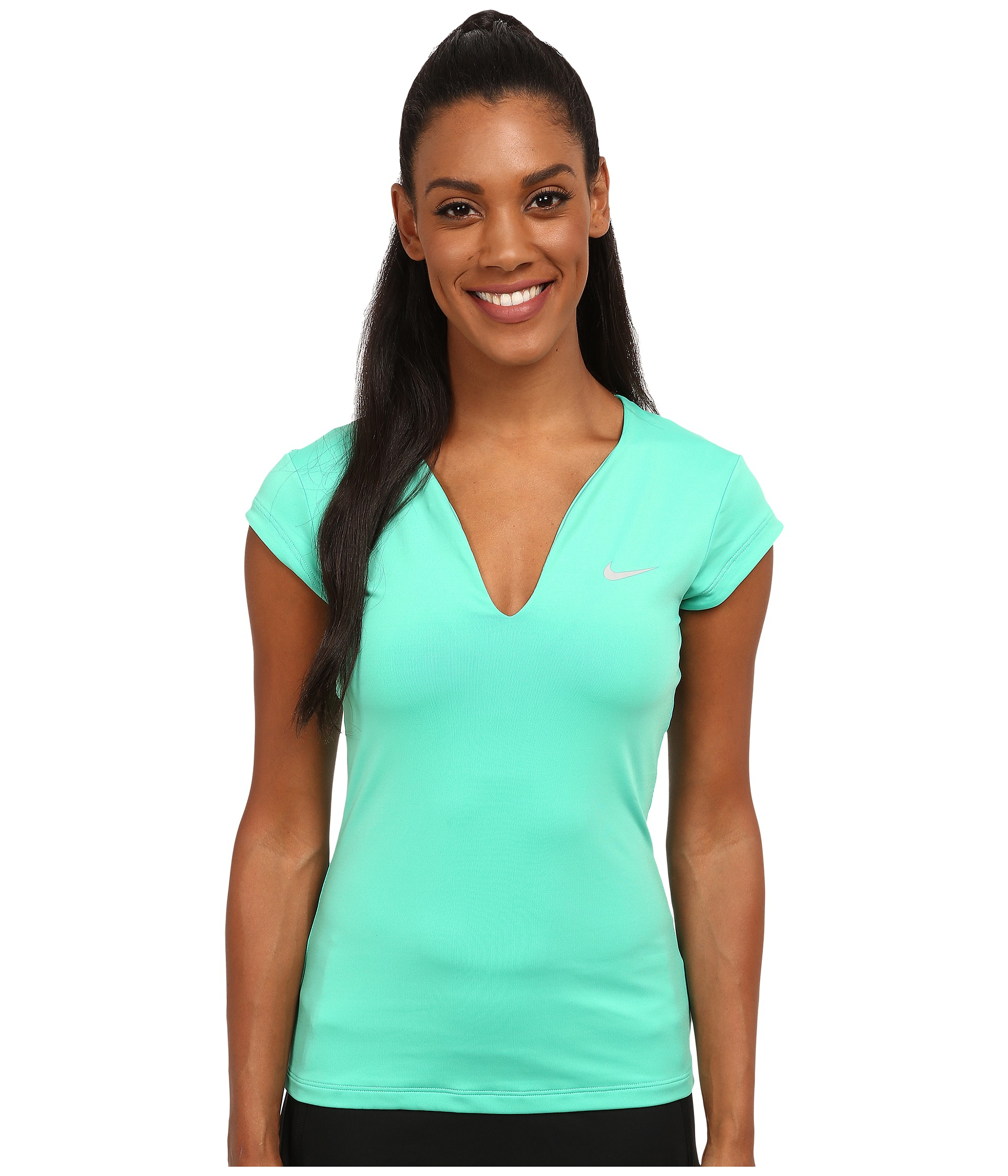 The latest women's tennis apparel is designed to help you move and feel better on the court. Pair airy tees and tanks with athletic skirts and shorts—and show the competition you've come to play.