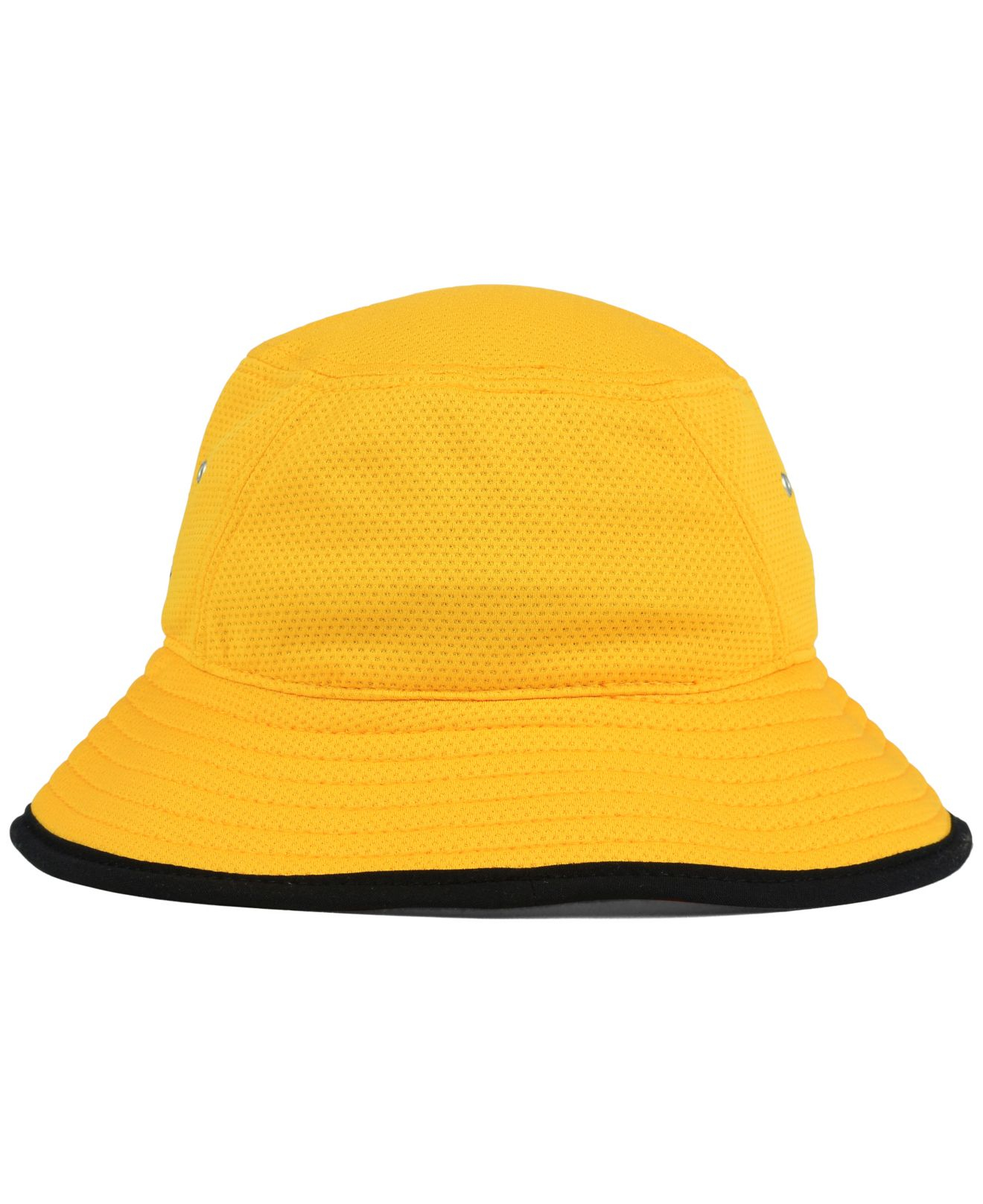 85316fb8014 Lyst - KTZ Pittsburgh Steelers Training Bucket Hat in Yellow for Men
