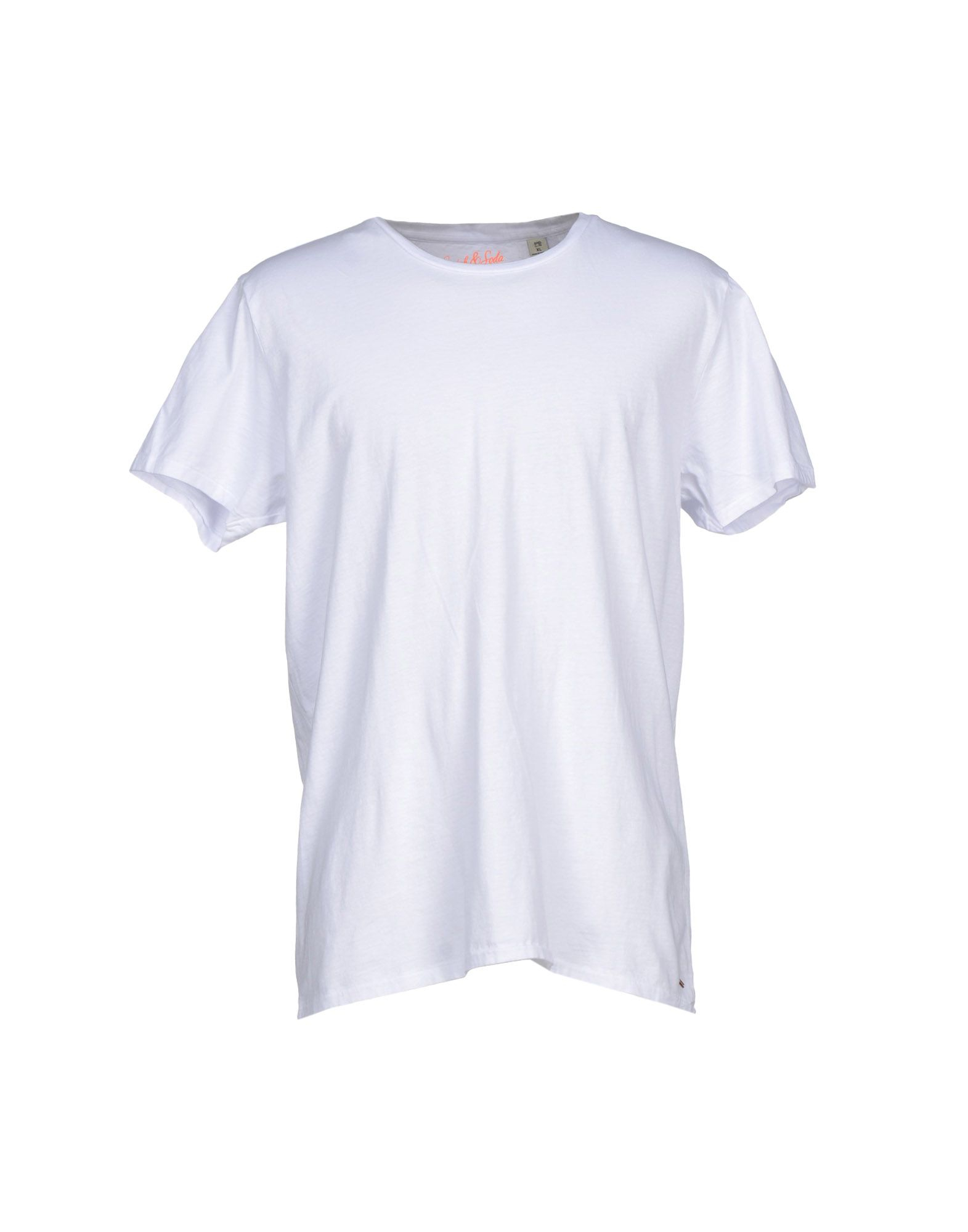 Lyst scotch soda t shirt in white for men for Lands end logo shirts
