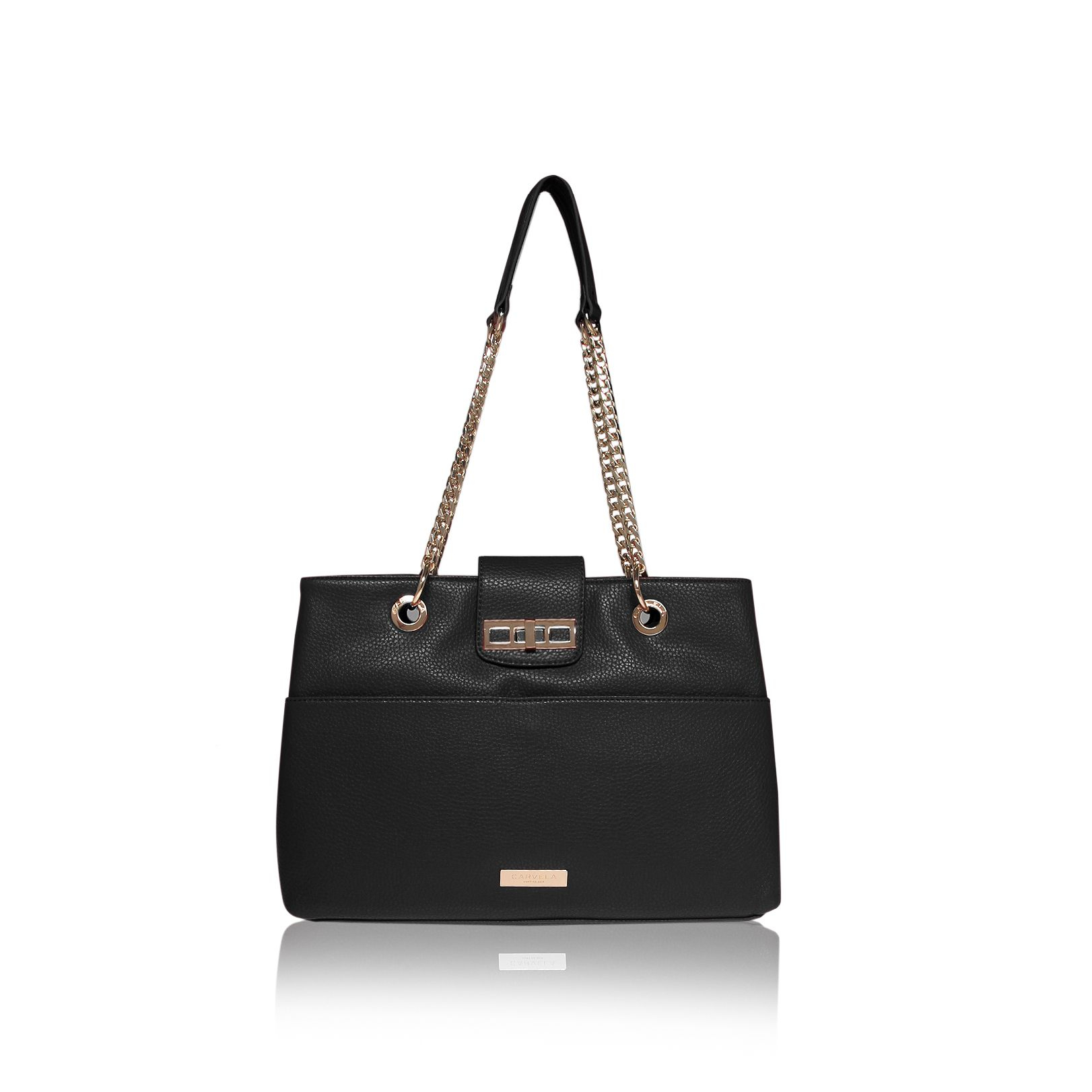 Carvela Kurt Geiger Collette Chain Bag In Black Lyst