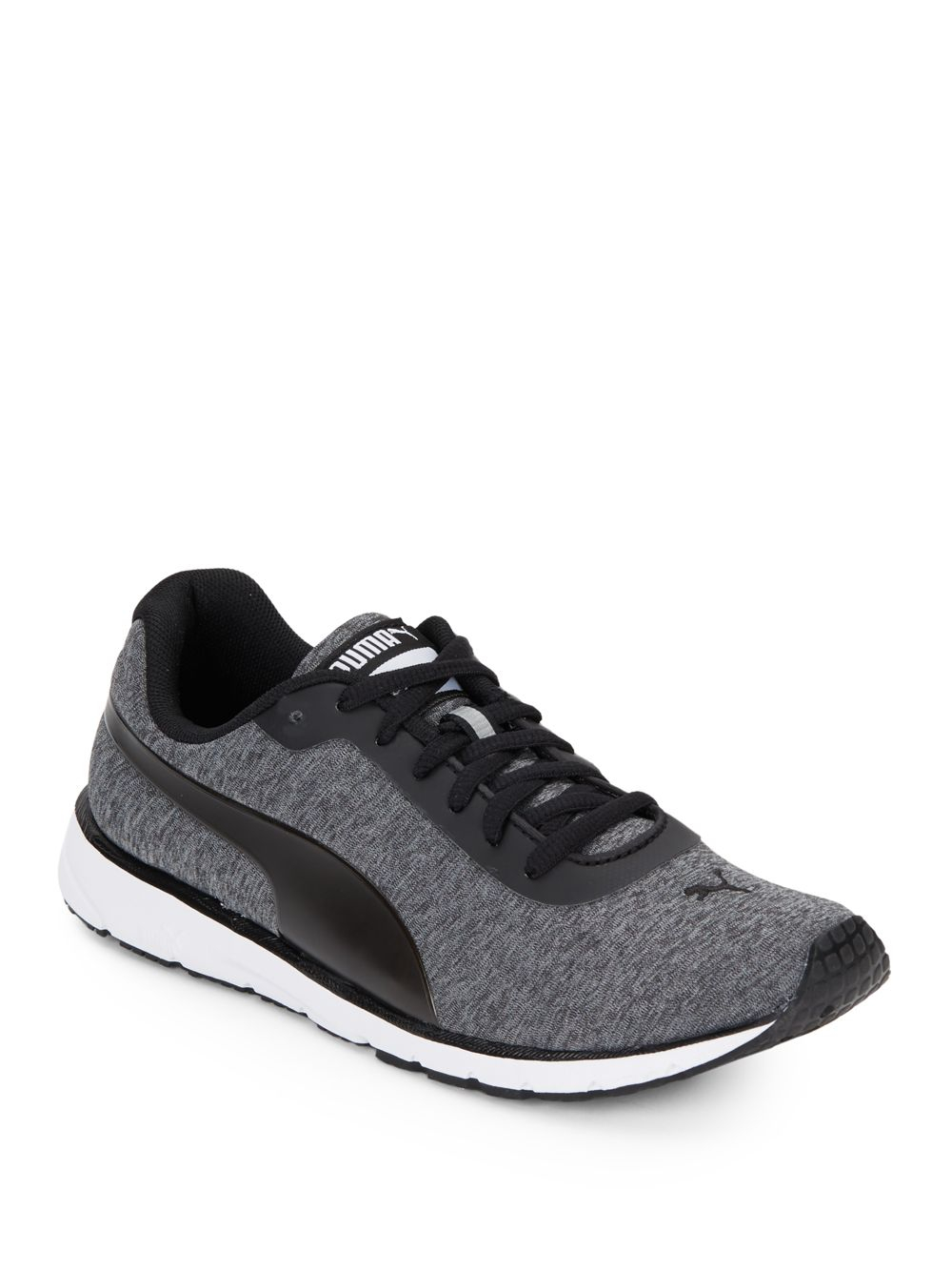 puma narita v3 black lace-up sneakers