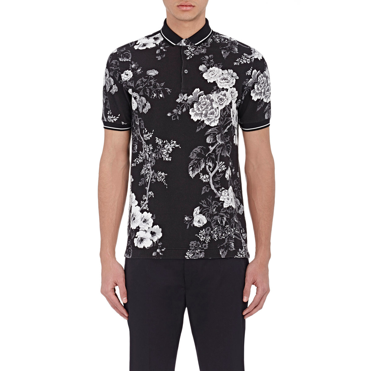 36efe809 Dolce & Gabbana Cactus Printed Silk T-shirt in Black for Men - Lyst
