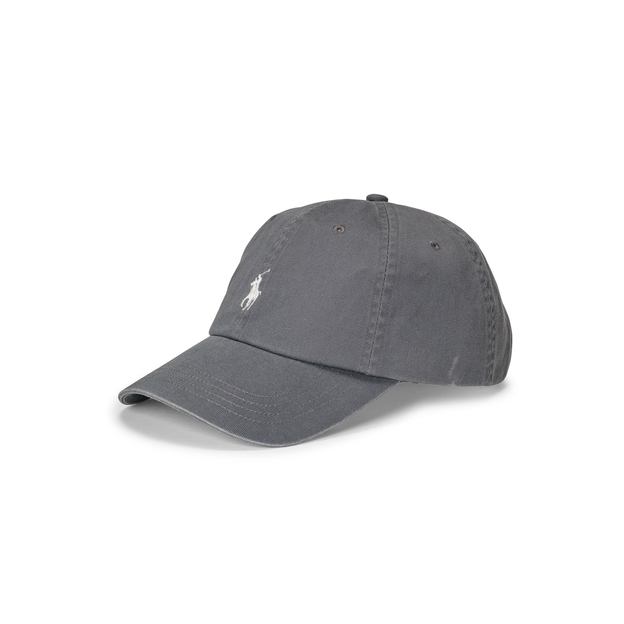 polo ralph lauren cotton chino baseball cap in gray for. Black Bedroom Furniture Sets. Home Design Ideas