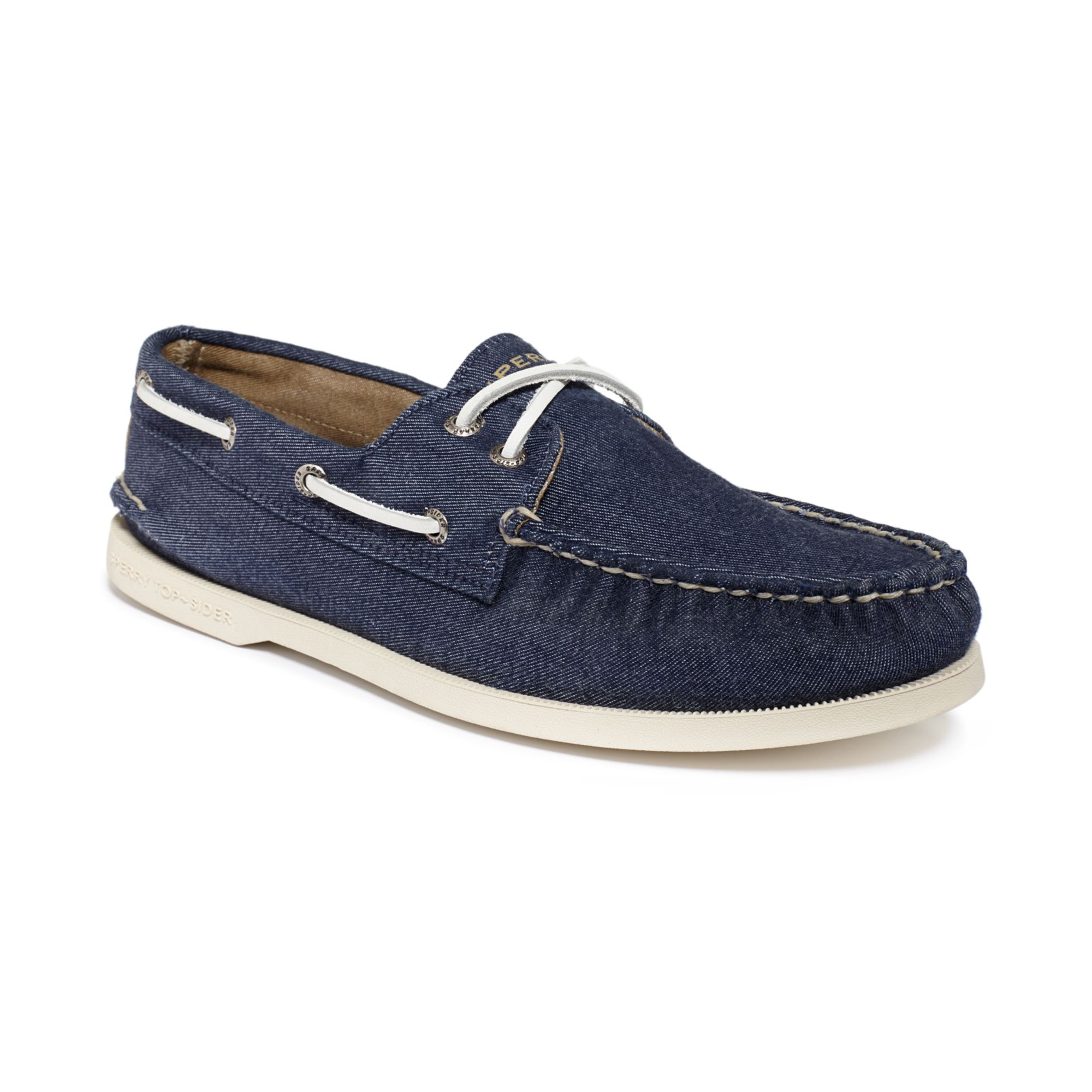 sperry top sider authentic original a o soft canvas boat