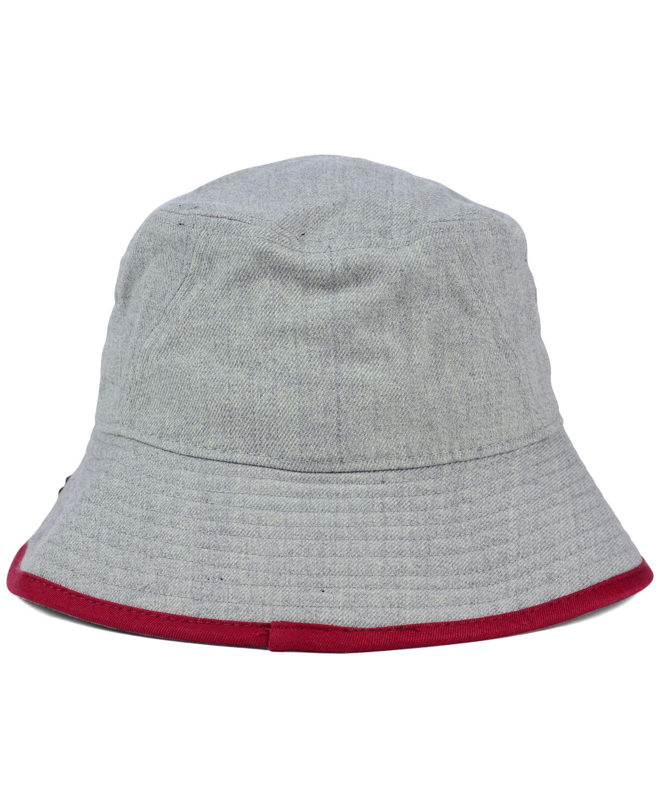 b1090a2136ba8 KTZ South Carolina Gamecocks Tip Bucket Hat in Gray - Lyst