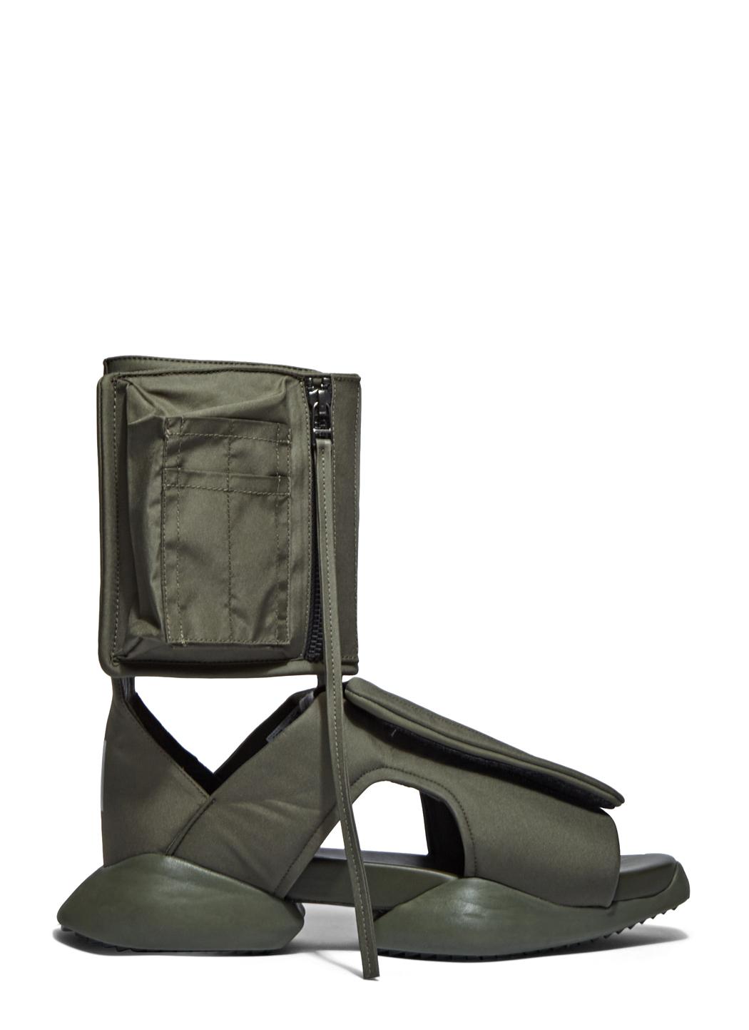 bfbd32b008ab1 Lyst - Rick Owens X Adidas Men s Velcro Strap Ro Cargo Sandals In ...