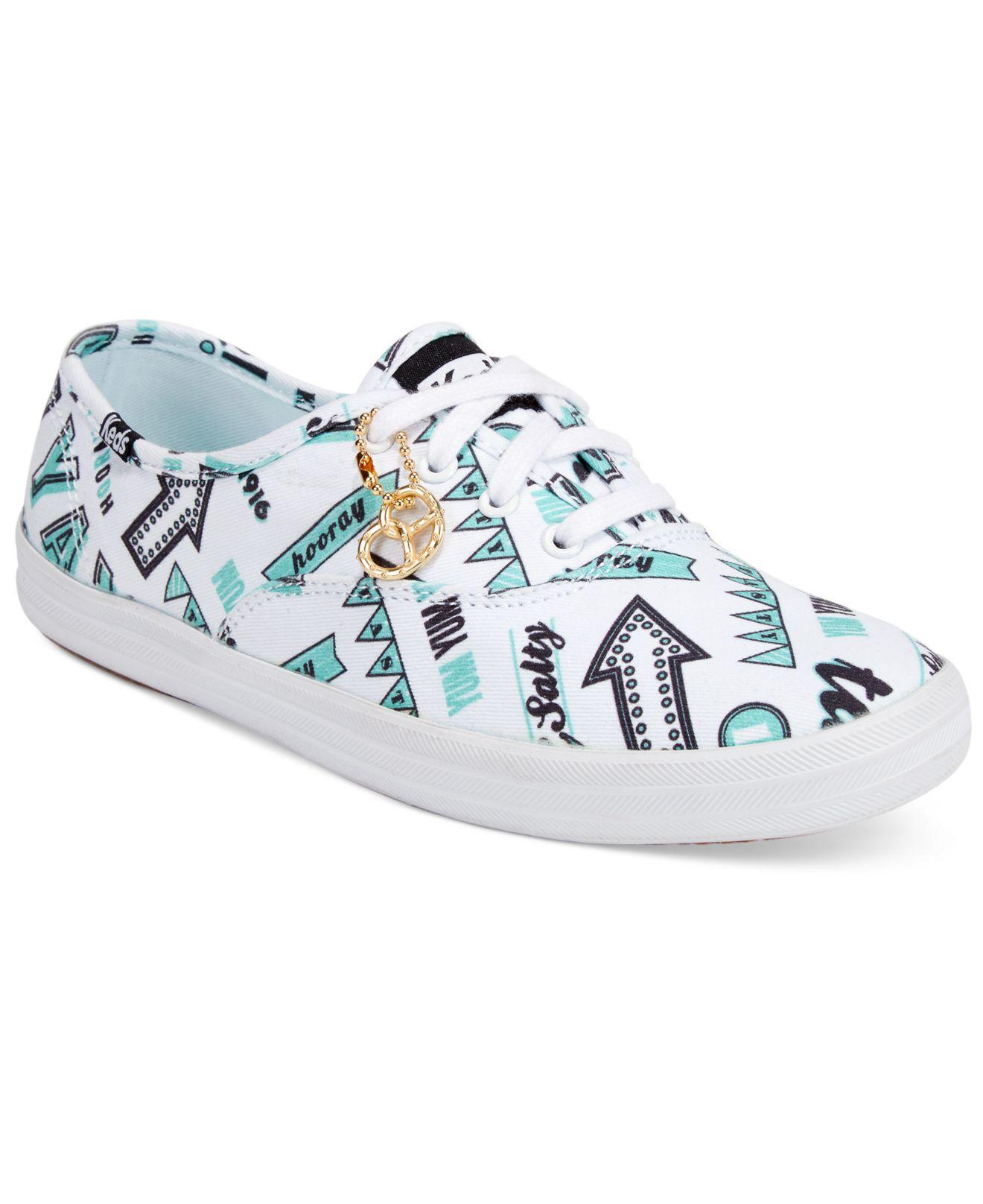 1222a455c2e99 Lyst - Keds Women s Champion Boardwalk Oxford Sneakers in Blue