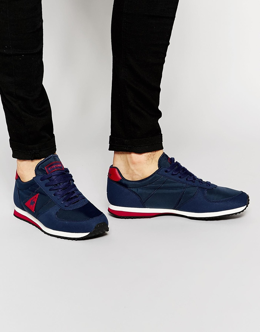 Lyst Le Coq Sportif Bolivar Trainers In Blue For Men