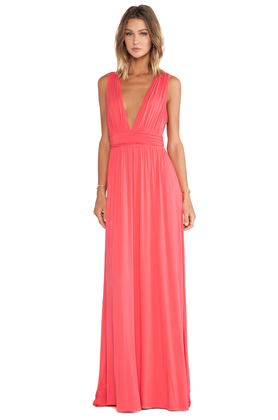 738be73c5a4 Lyst - Lovers + Friends Helena Maxi Dress in Pink