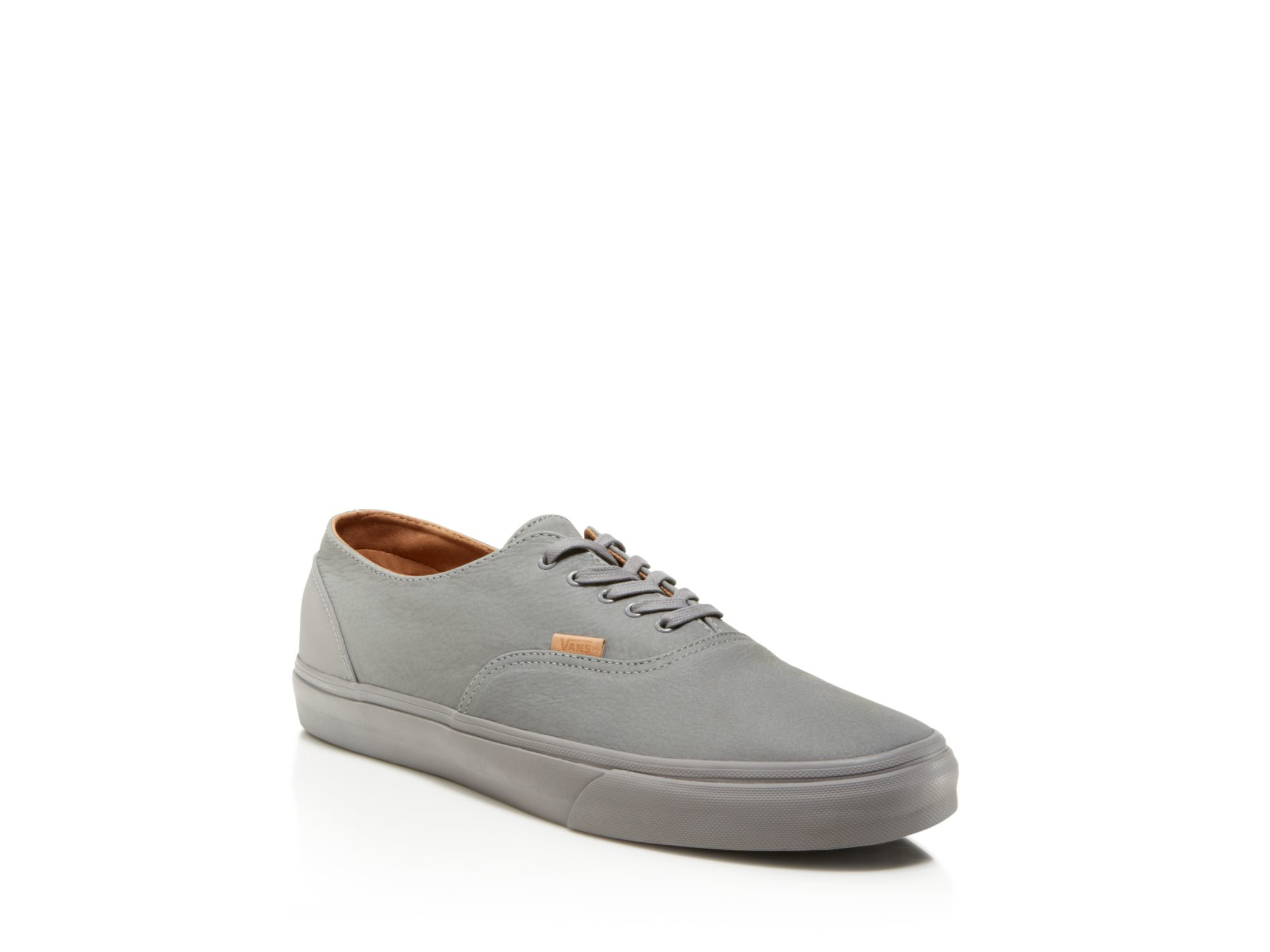 ecab1bf59b Lyst - Vans Era Decon Ca Mono Leather Sneakers in Gray for Men