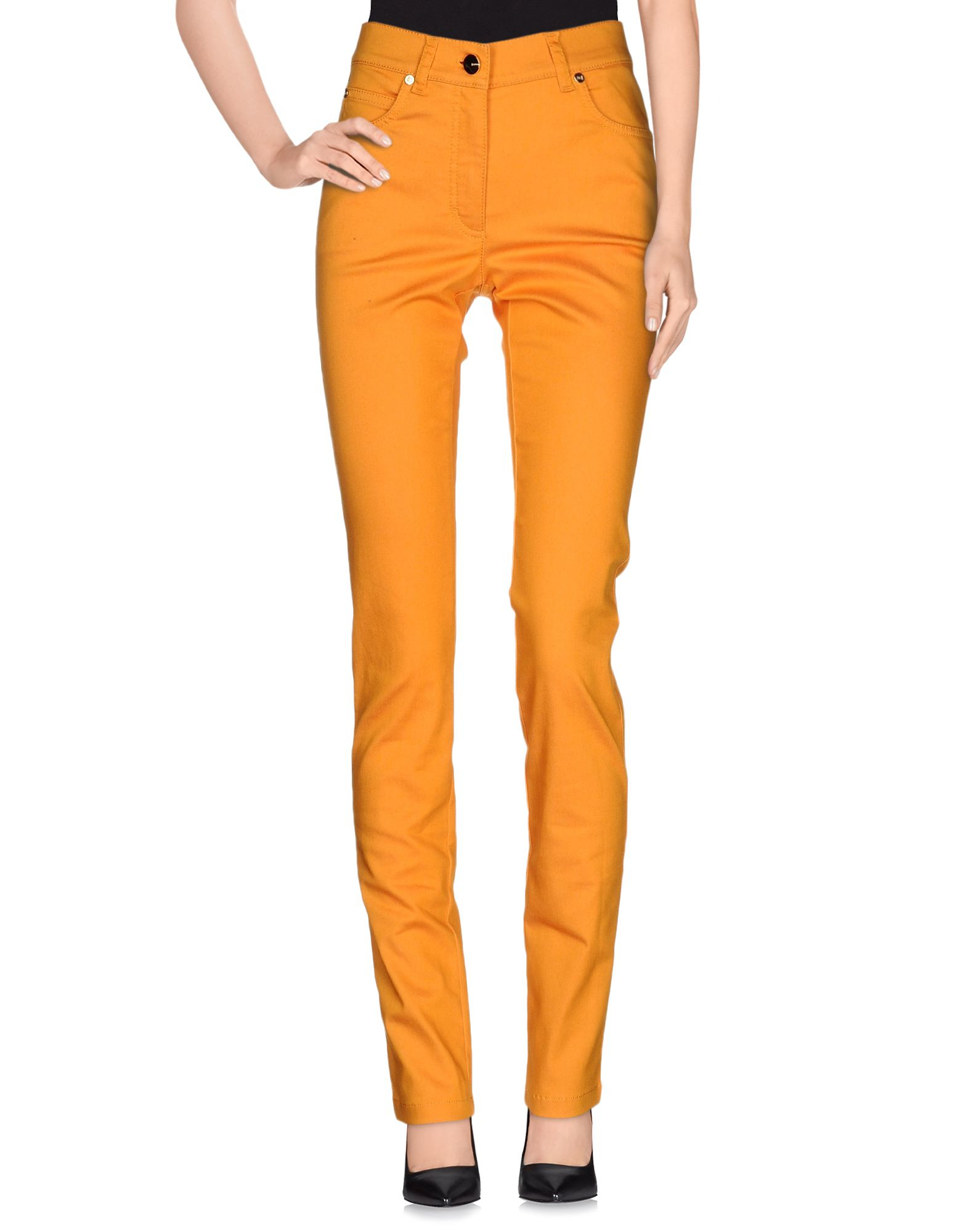 Simple Pinkoblackorangecasualpantsstraightlegpantsproduct124587860