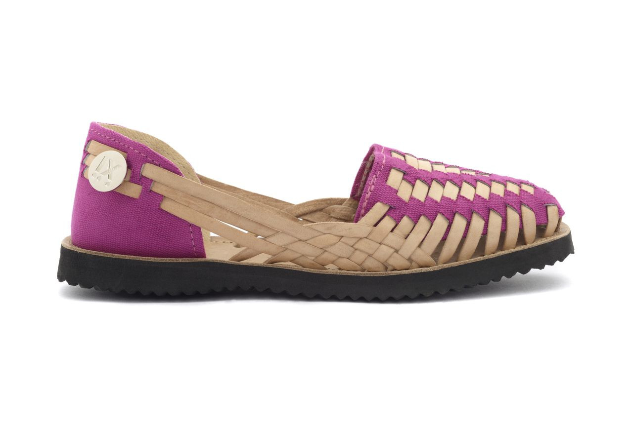 Wonderful Women39s Vintage Huarache Sandals With Honey Woven Leather