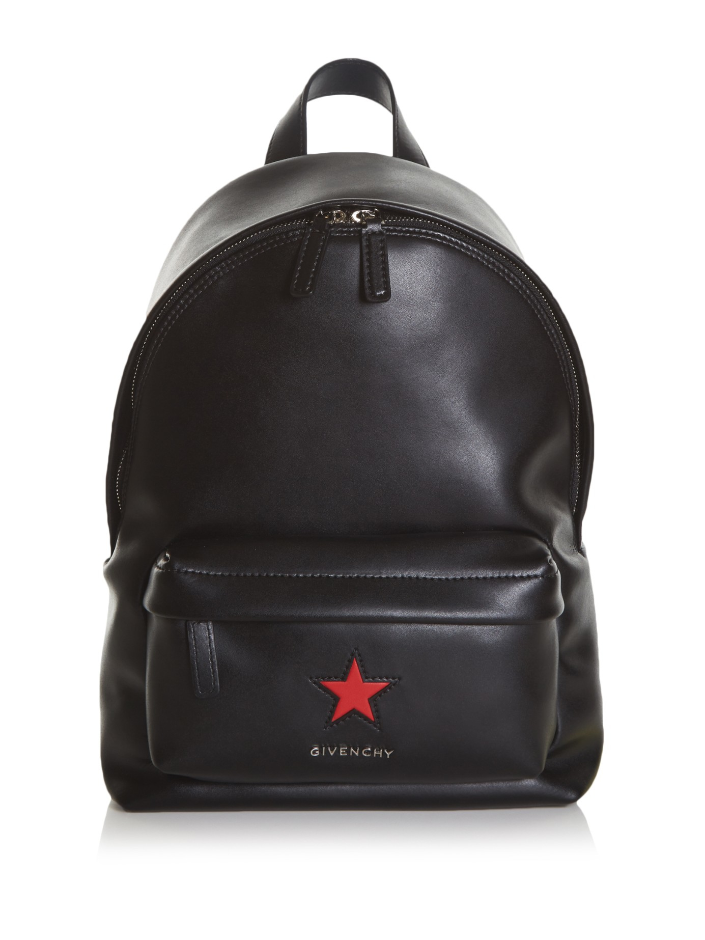 Givenchy Star Patch Backpack Women Leather One