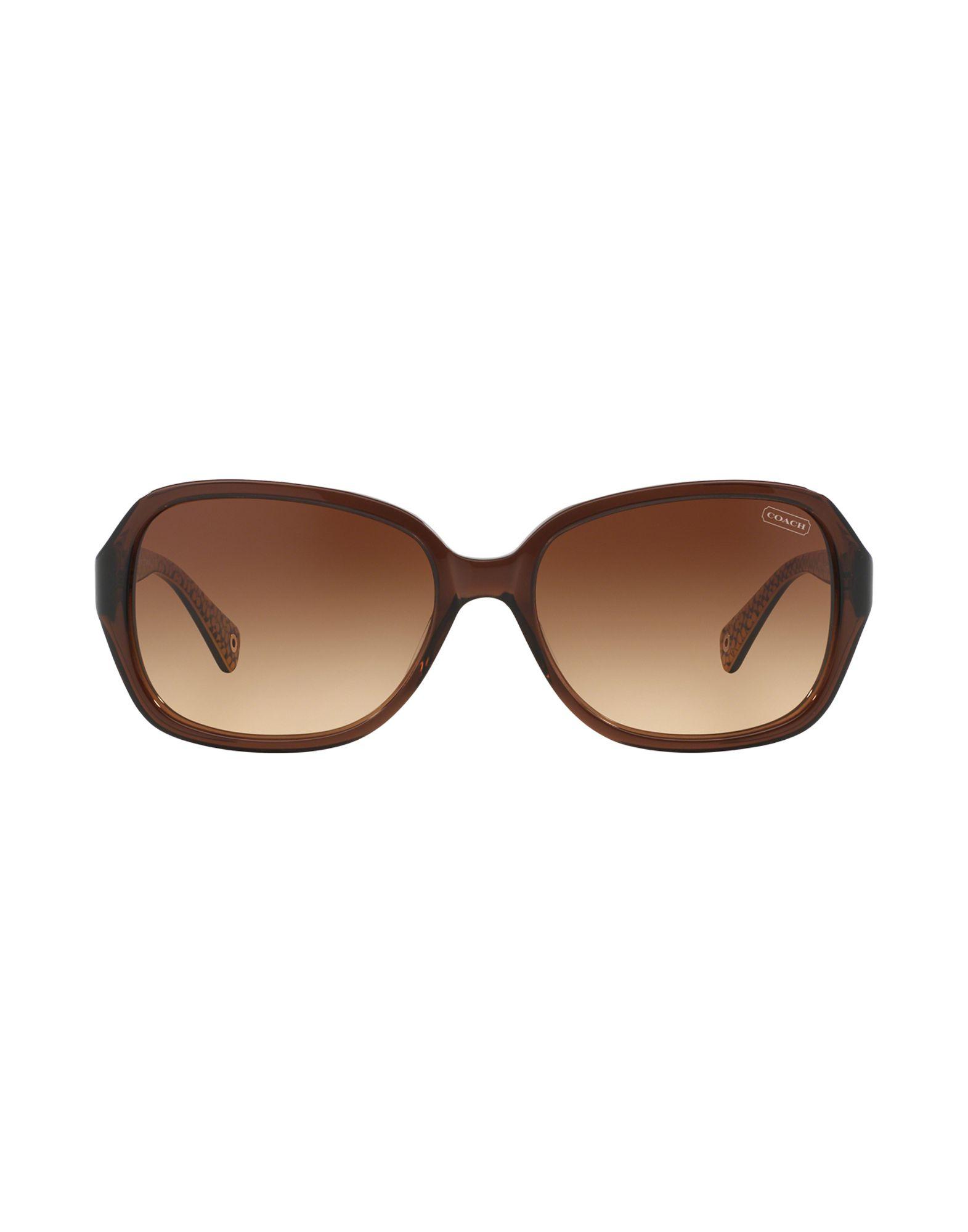 Coach Sunglasses in Brown - Lyst