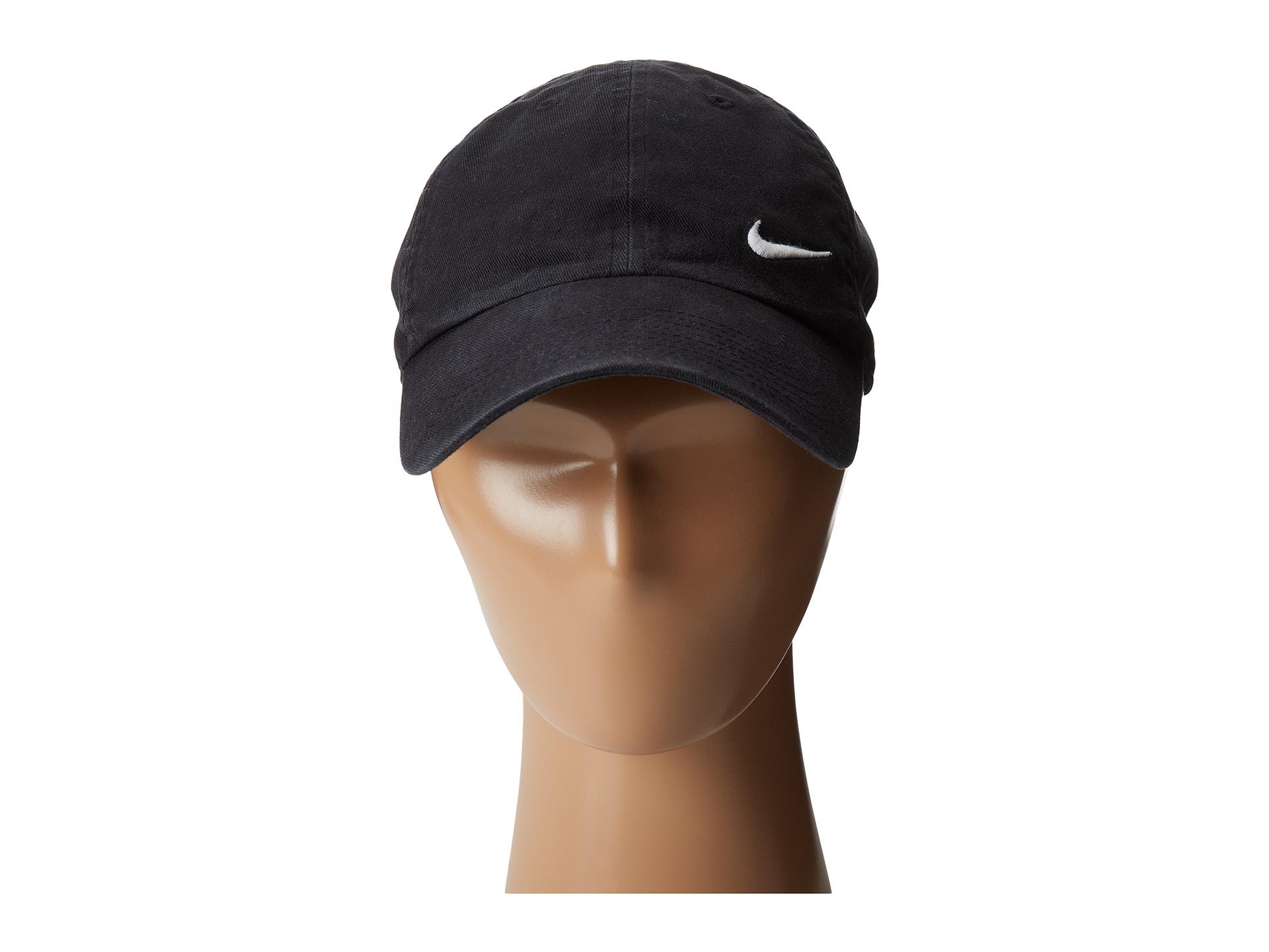 Lyst - Nike Heritage 86 Swoosh Cap in Black 8c8530bcf9b