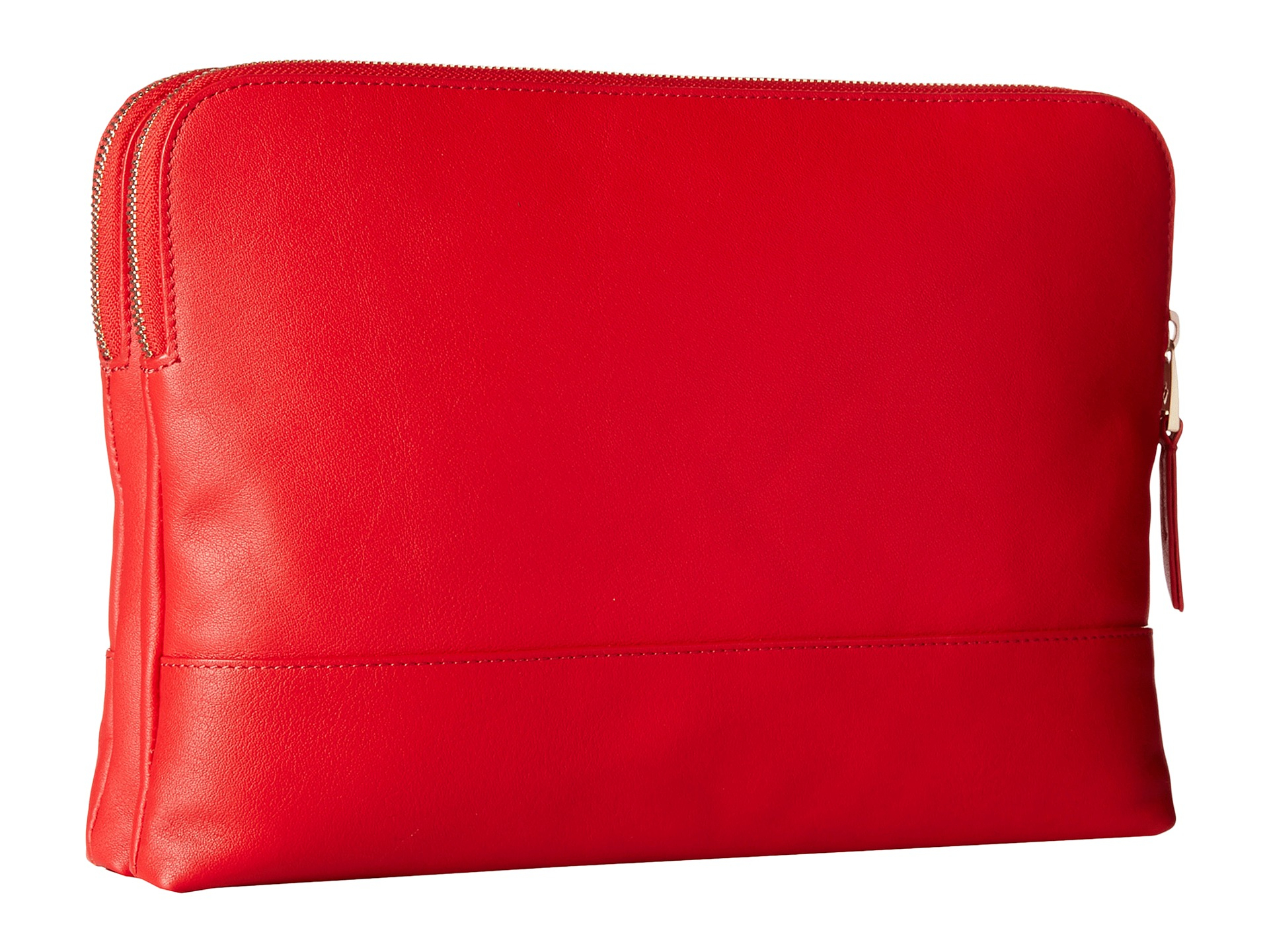 3578d06273 Lyst - Knomo Davies Leather Crossbody Bag in Red