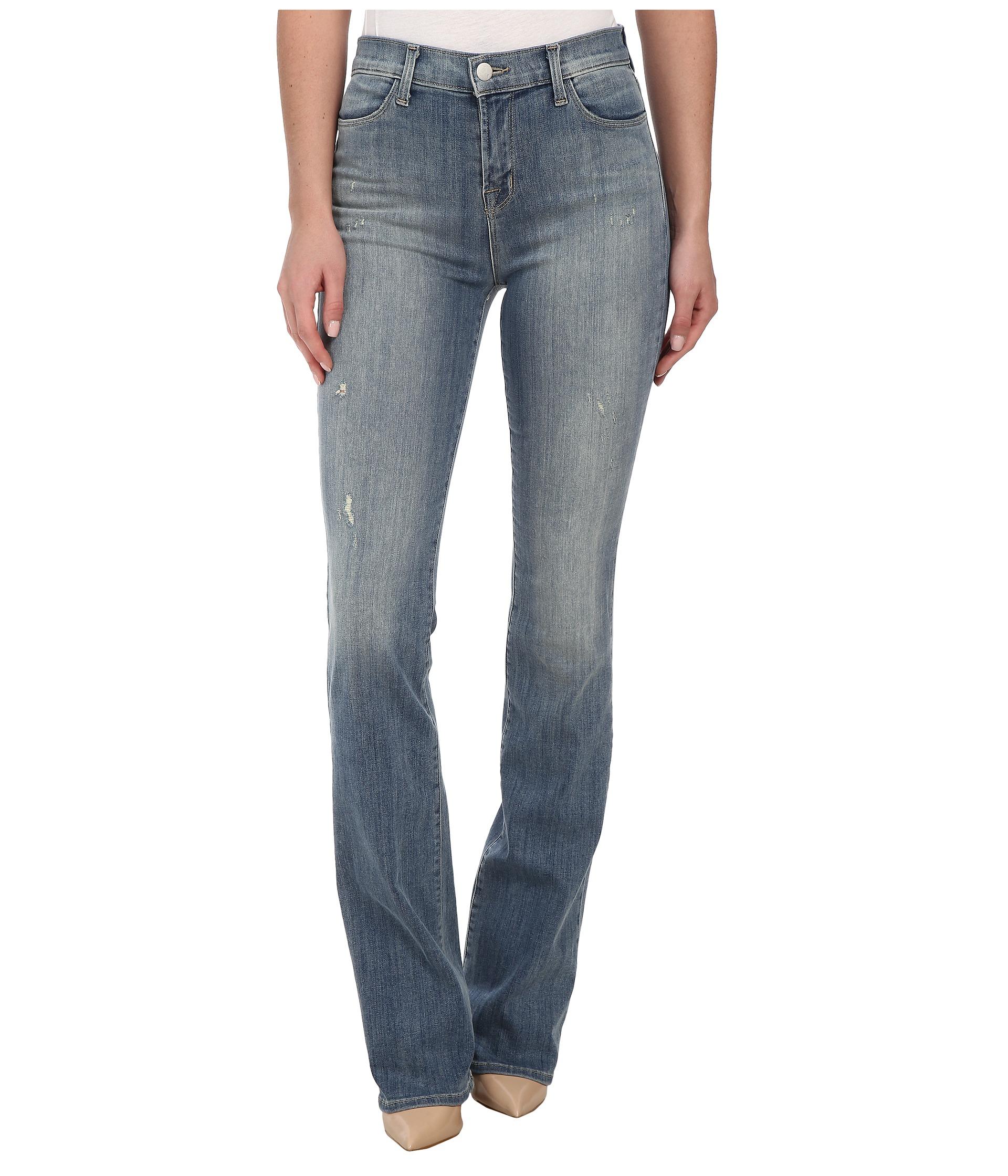 J brand high rise slim boot cut jeans