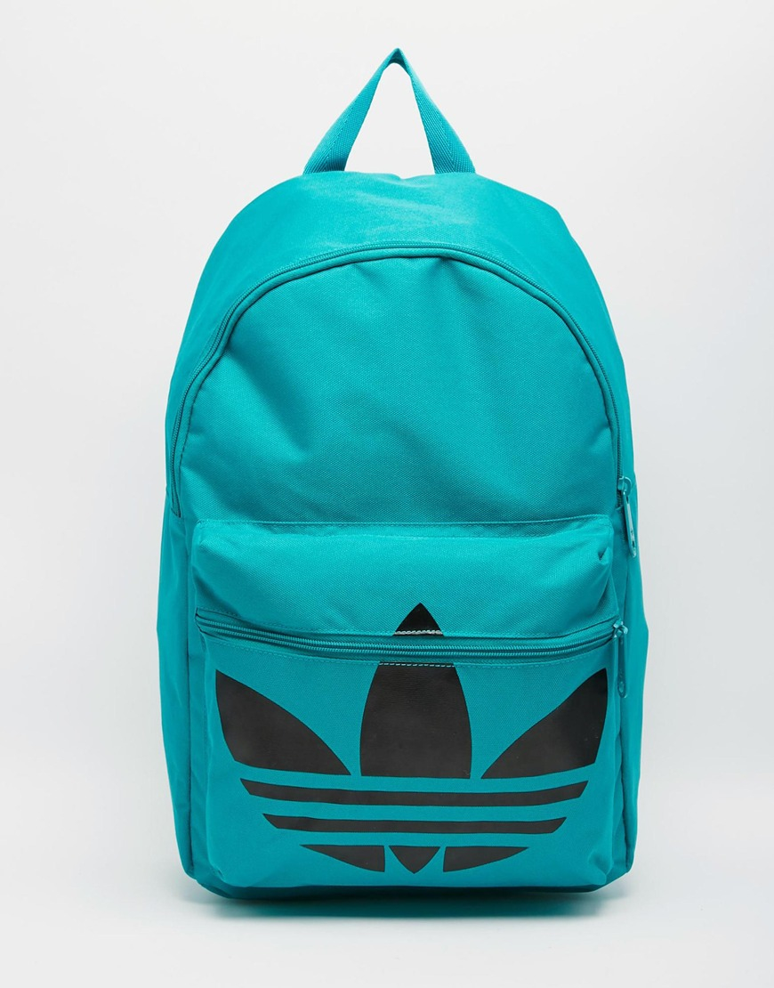 Lyst - Adidas Originals Classic Backpack in Green for Men 859f49277e791