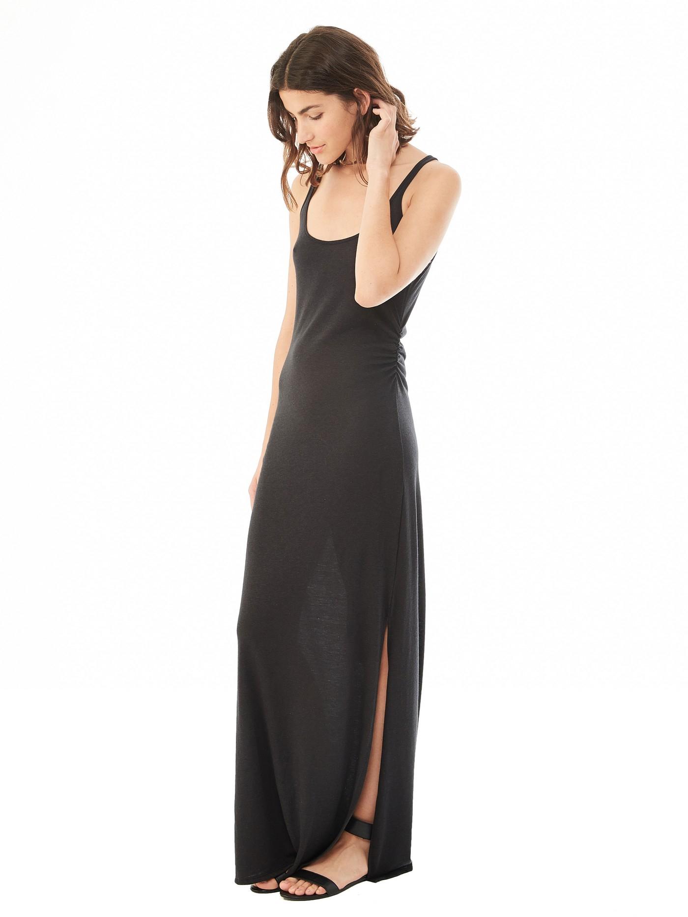 Alternative Apparel Dress Sleeveless Racerback Maxi Ivo Hoogveld