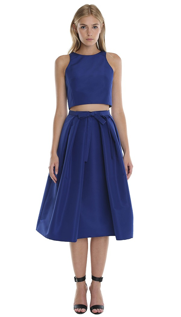 Silk Full Skirt 23
