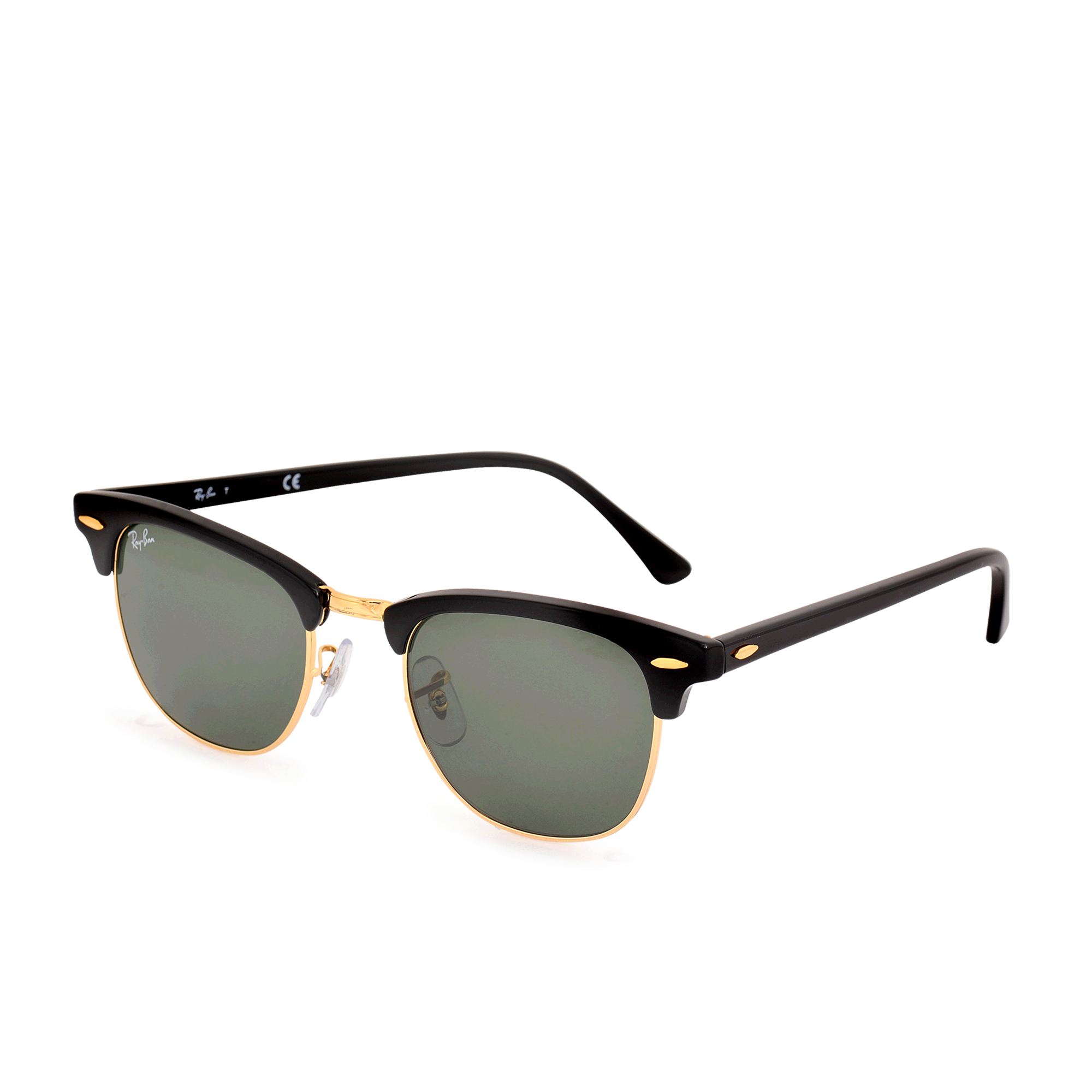 ray ban clubmaster 3016 sunglasses in gold lyst. Black Bedroom Furniture Sets. Home Design Ideas