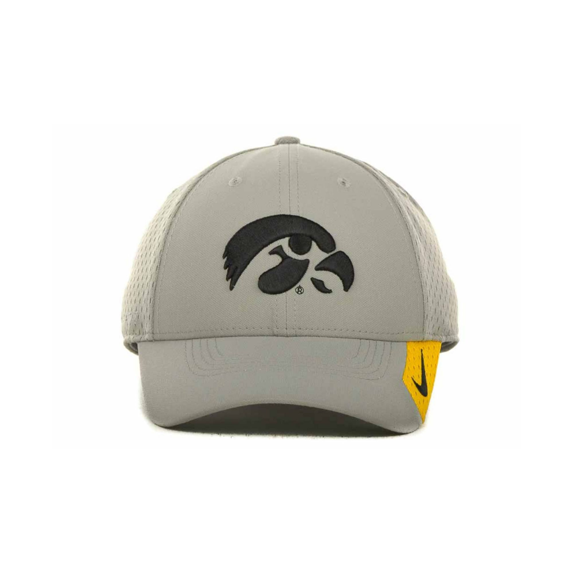 1d1d786a7d3 ireland lyst nike iowa hawkeyes mesh swooshflex cap in gray for men ba0a3  0a674
