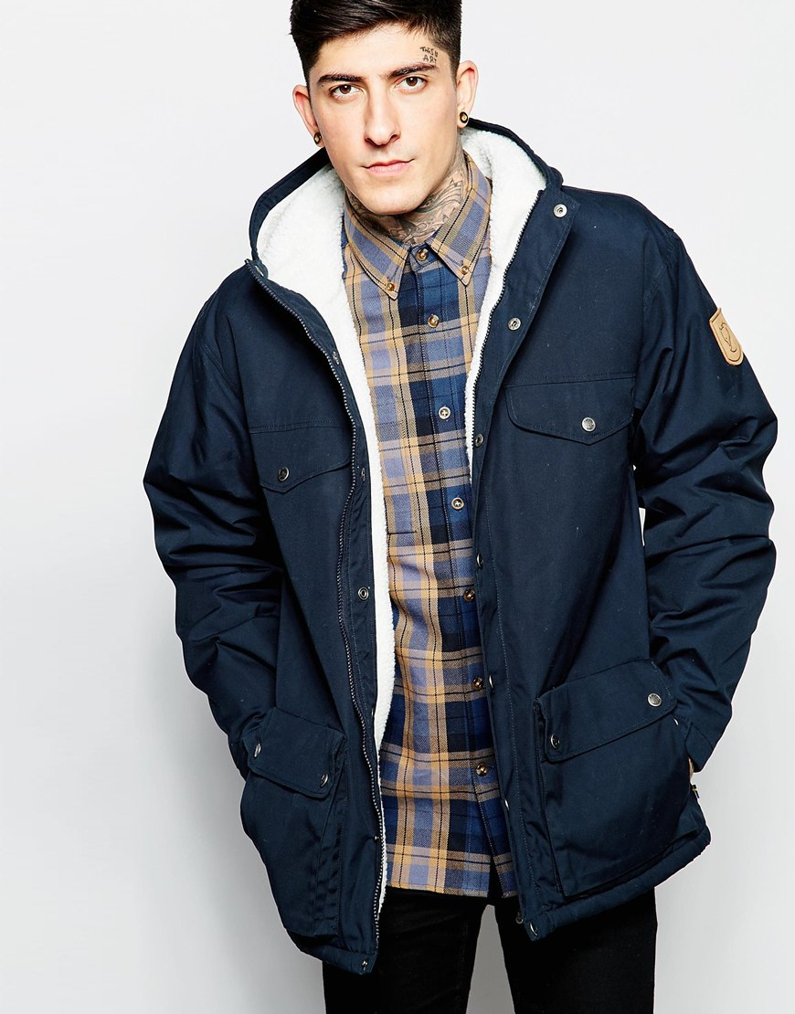 Lyst Fjallraven Greenland Winter Jacket In Blue For Men