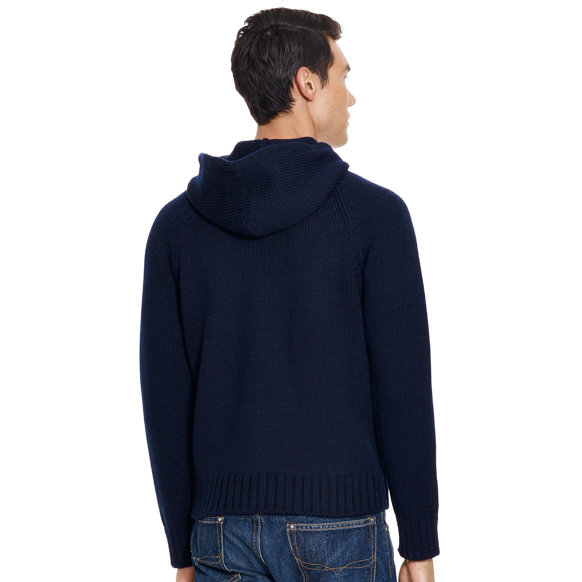453f46df347 germany lyst polo ralph lauren flag wool hooded sweater in blue for men  edc6f 9ff4d